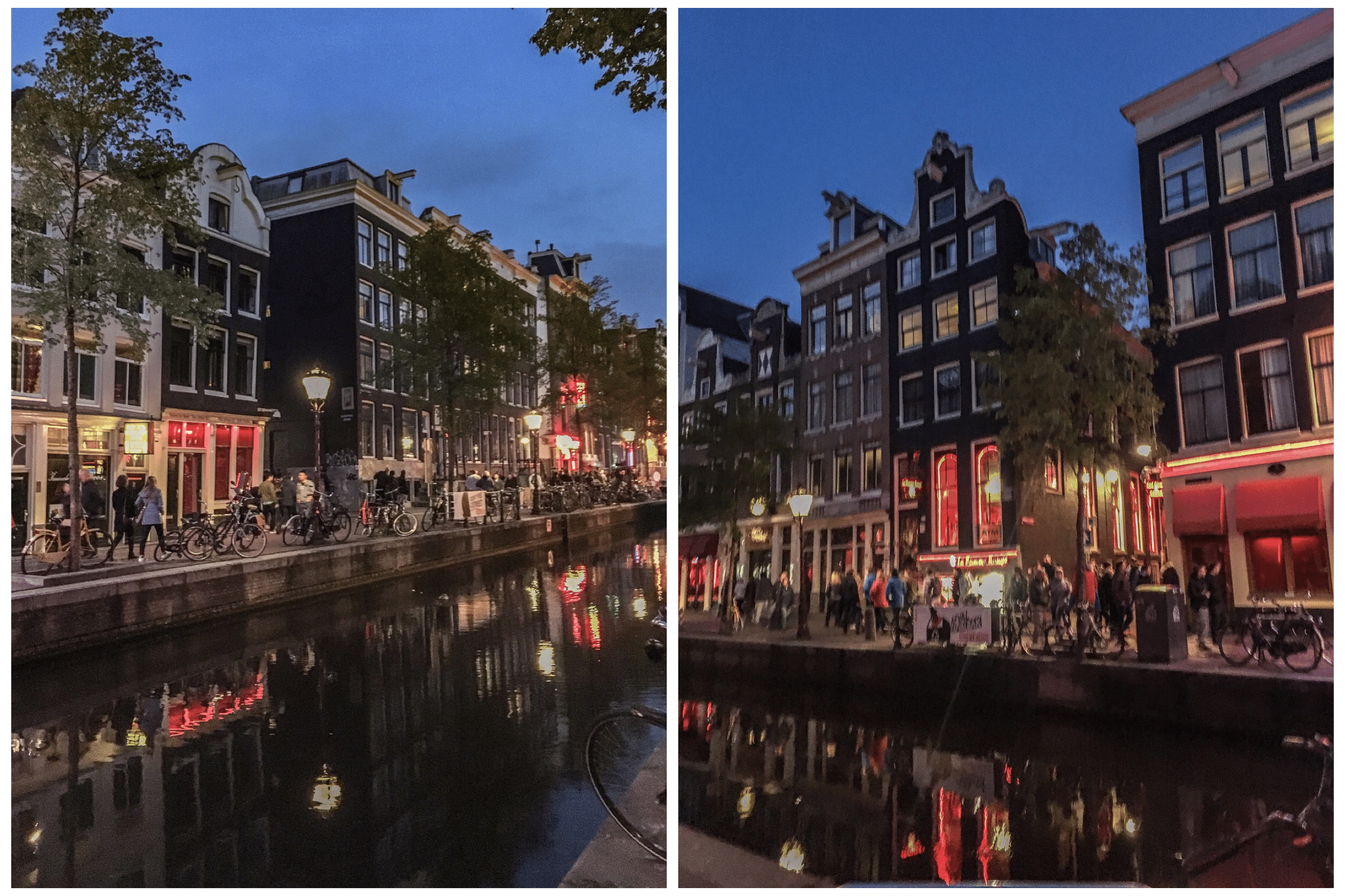 red light district le quartier rouge amsterdam