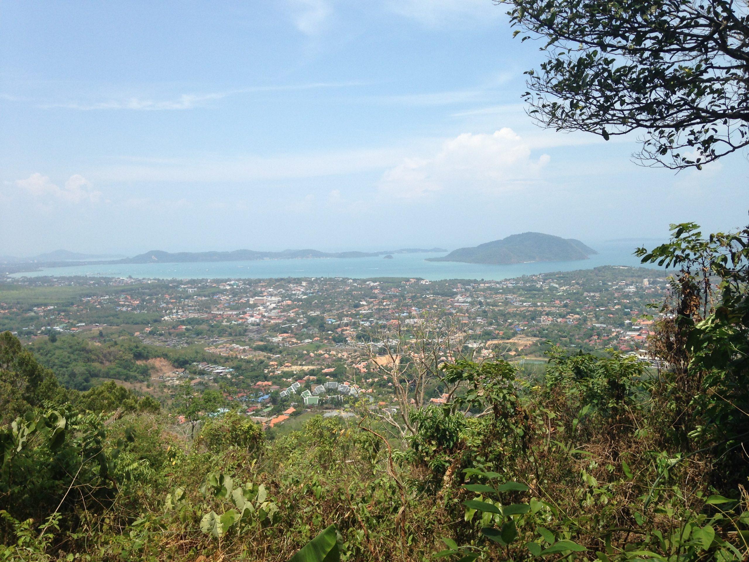 Vue sur la province de Phuket