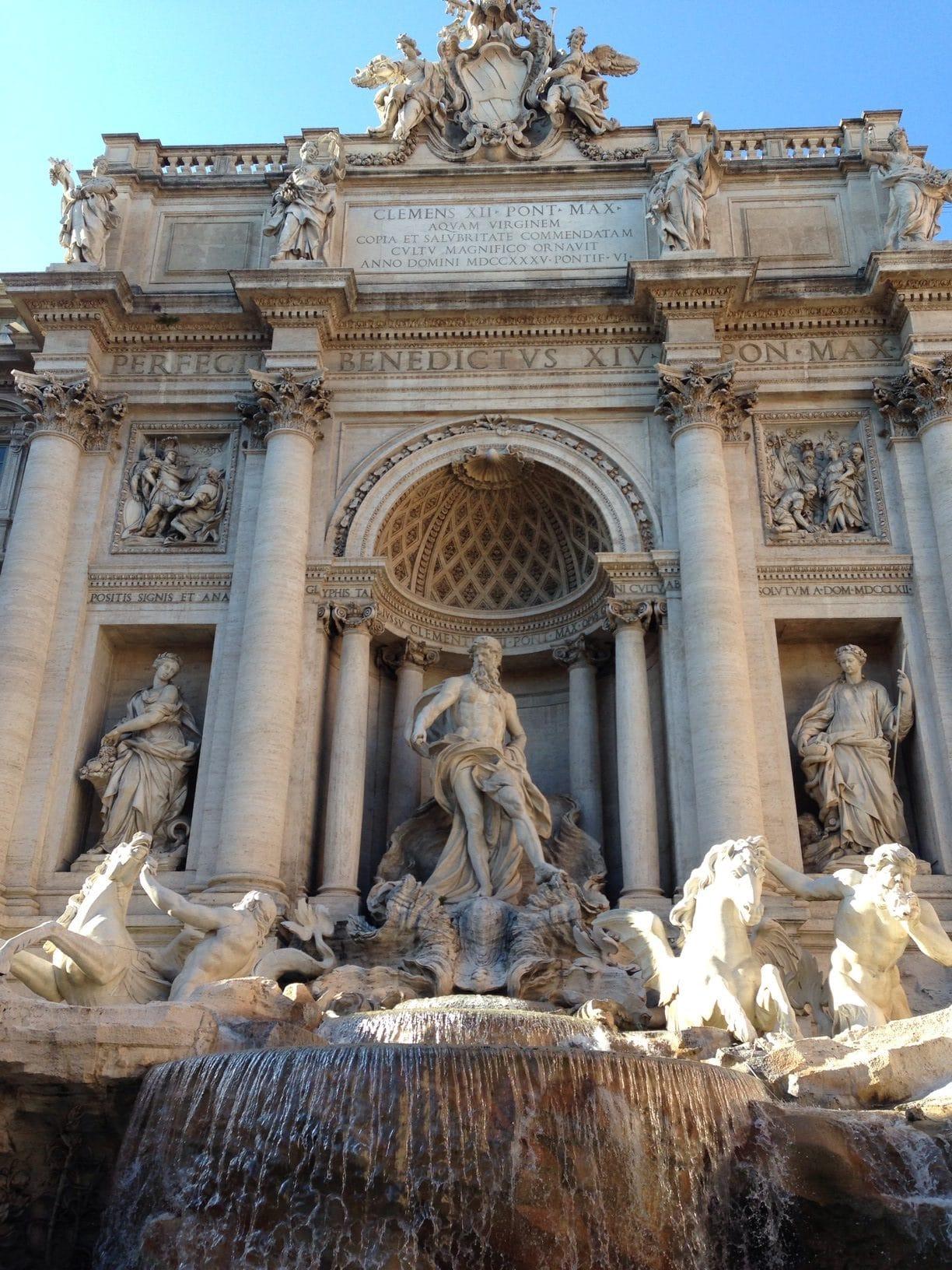 rome fontaine de trévi