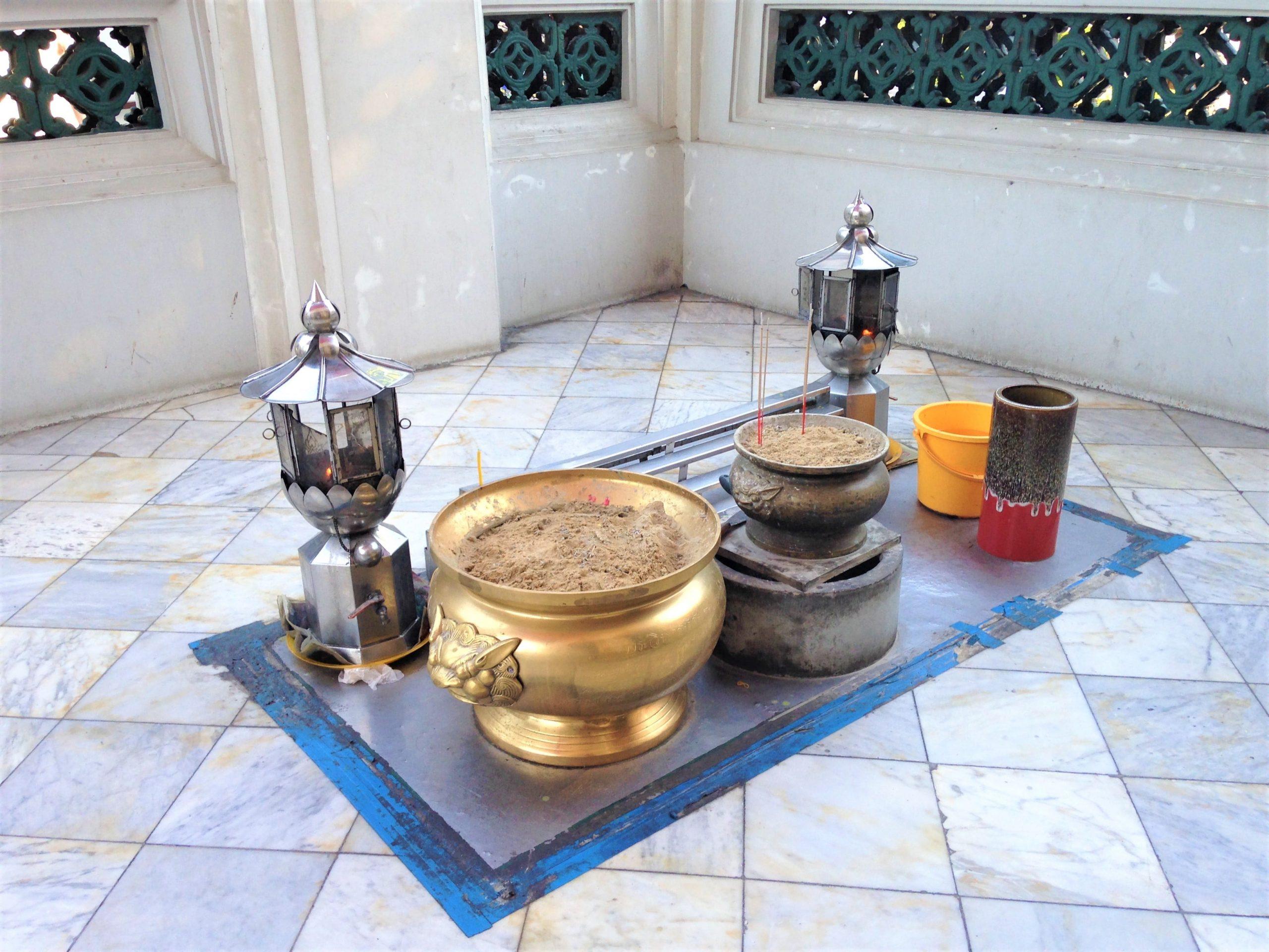 détails des temples à Bangkok