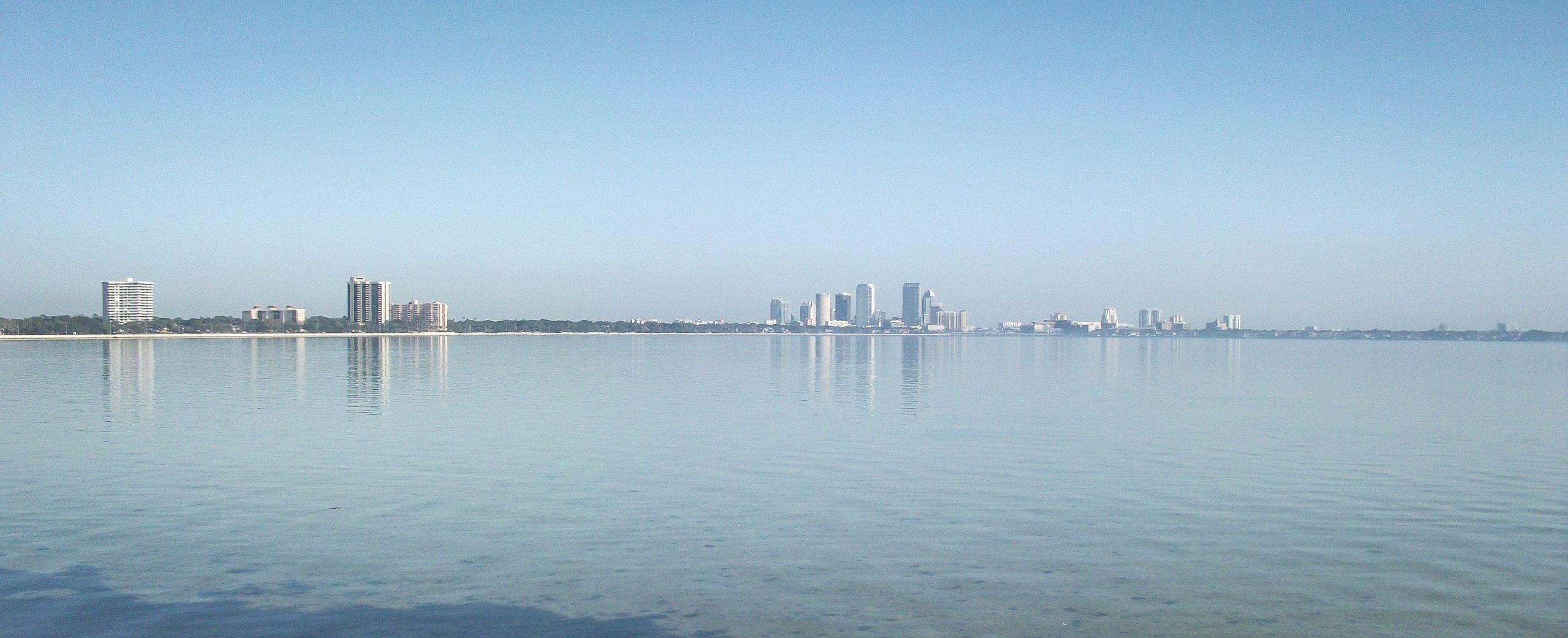 Tampa depuis le Boulevard Bayshore
