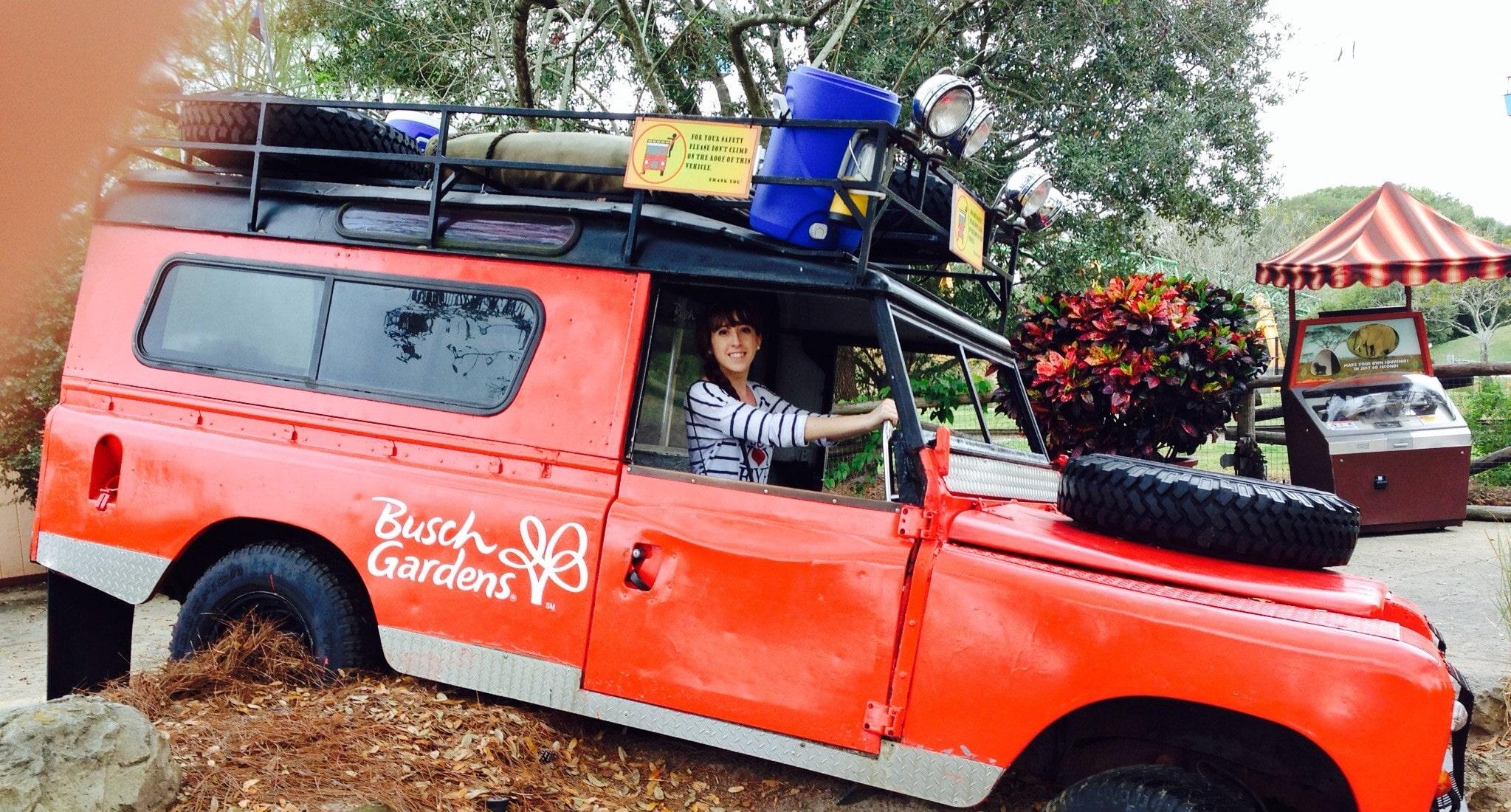 Kiki mag travel à Busch Garden