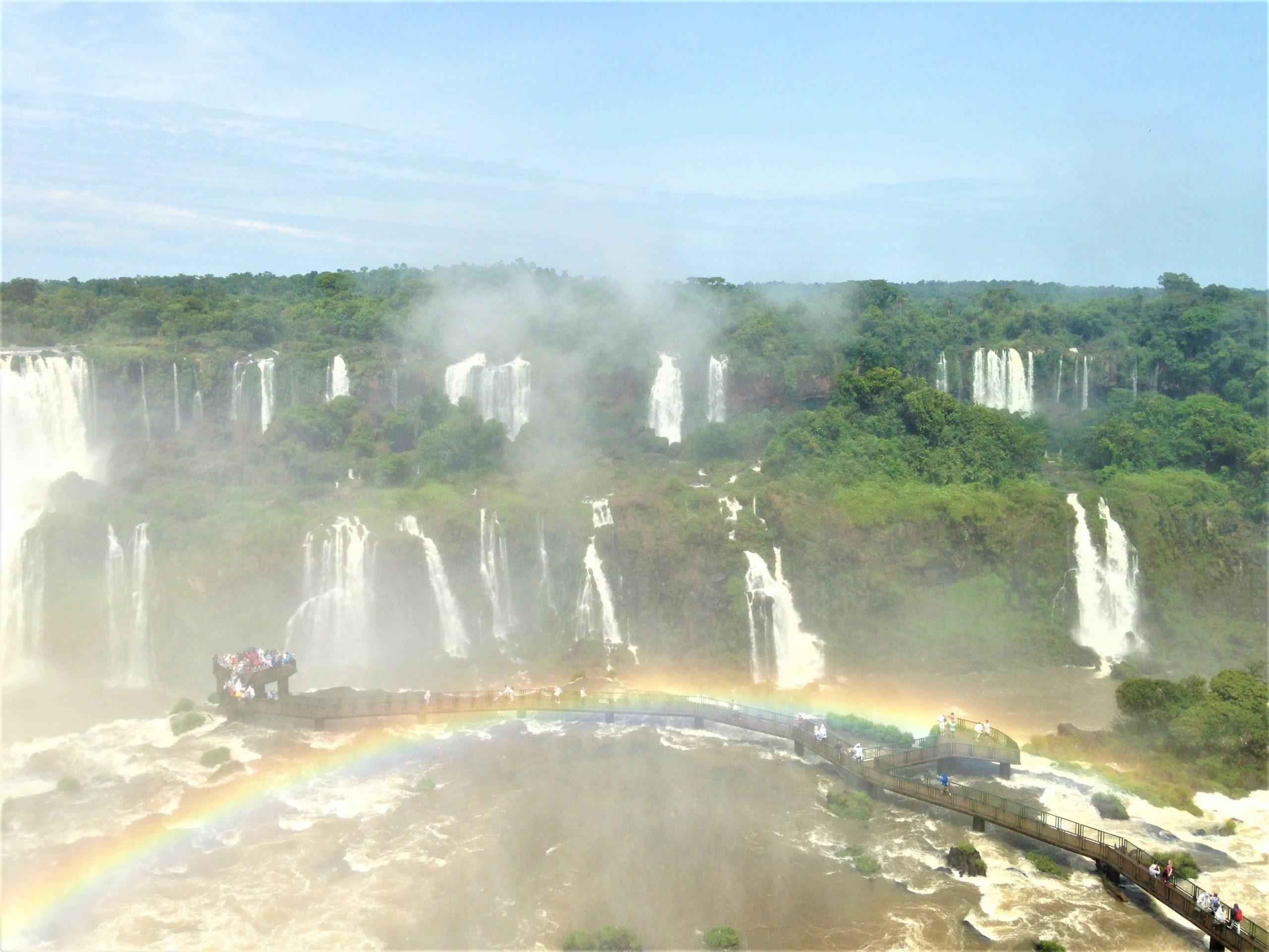 les chutes d'Iguacu