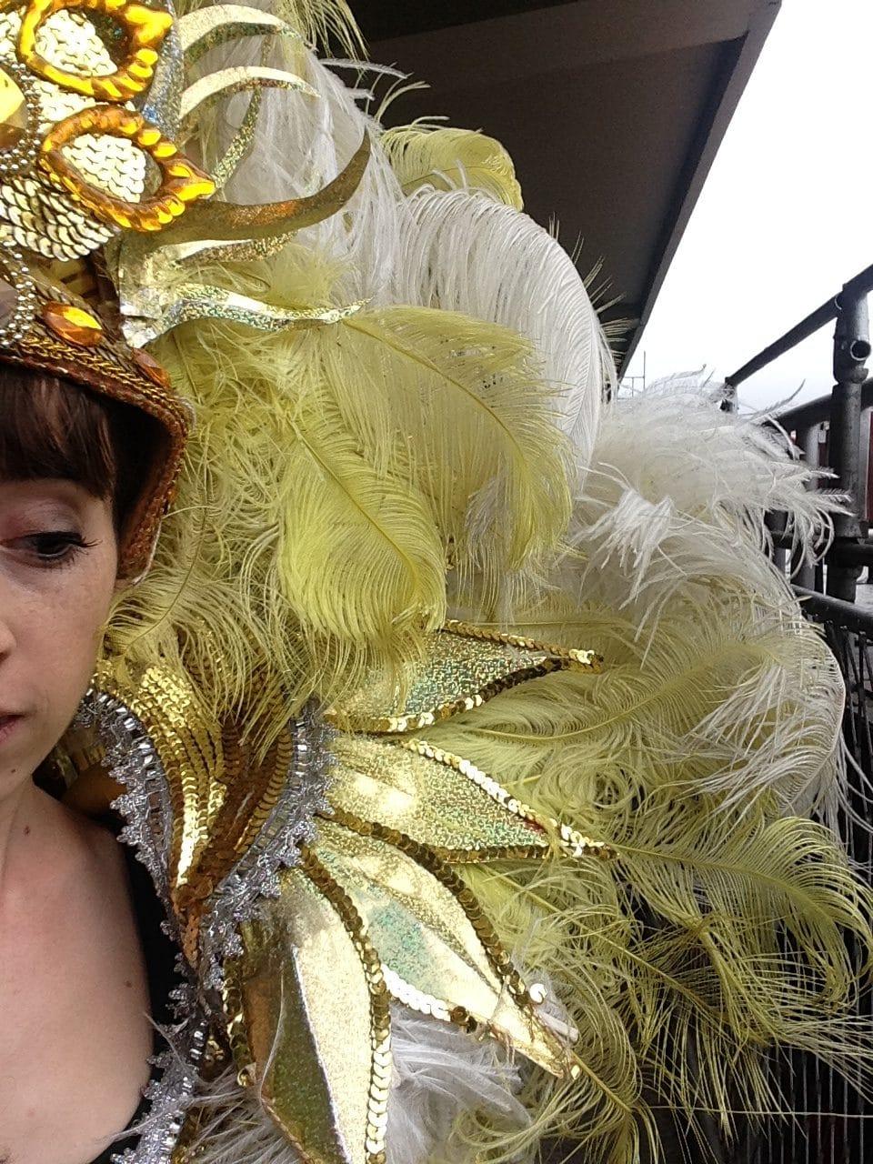 costume typique du carnaval de rio