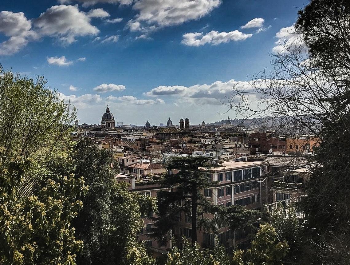 rome vue sur la ville