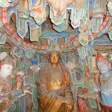 Bouddha monastère suspendu de XUANKONG SI