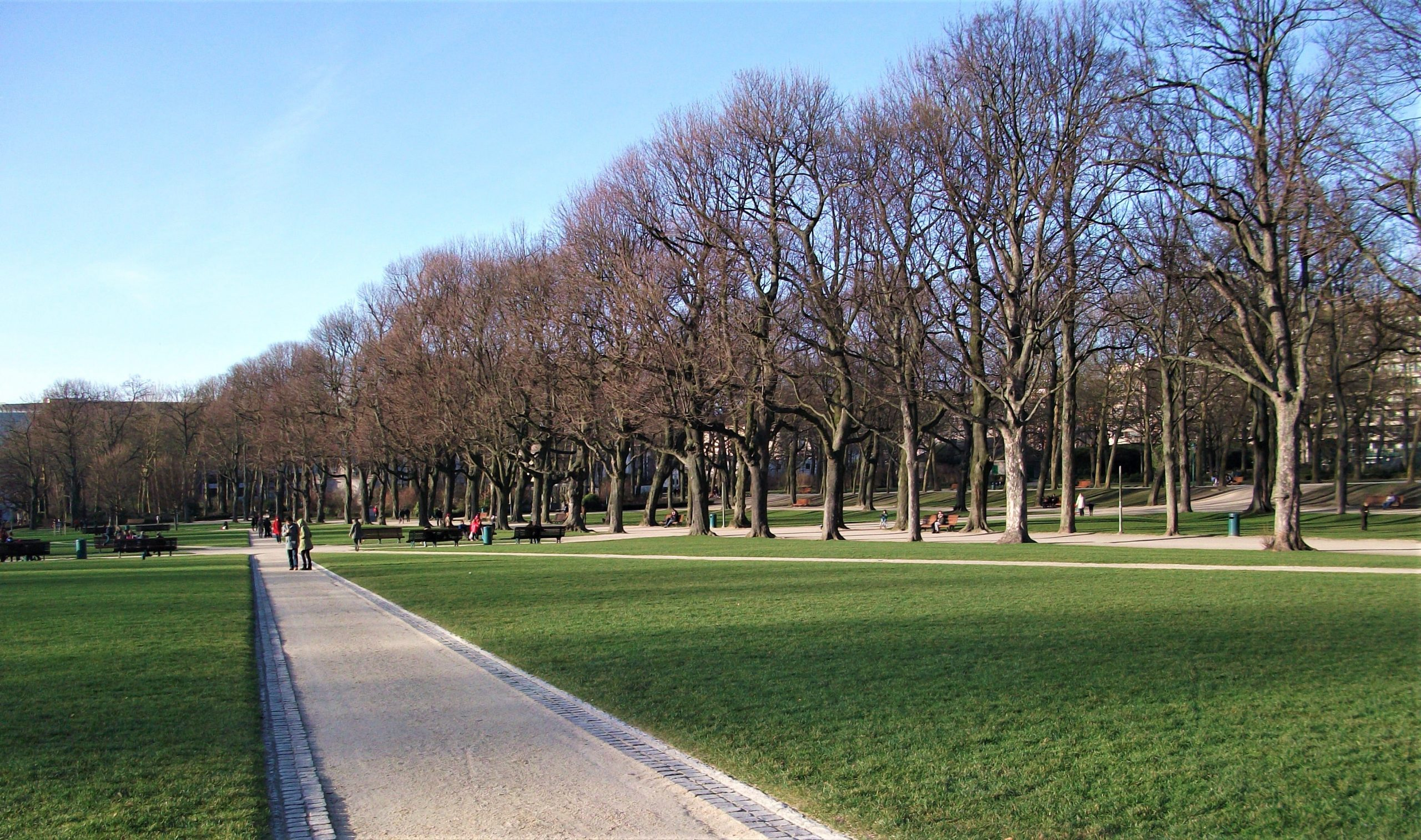 parc du cinquantenaire bruxelles nature