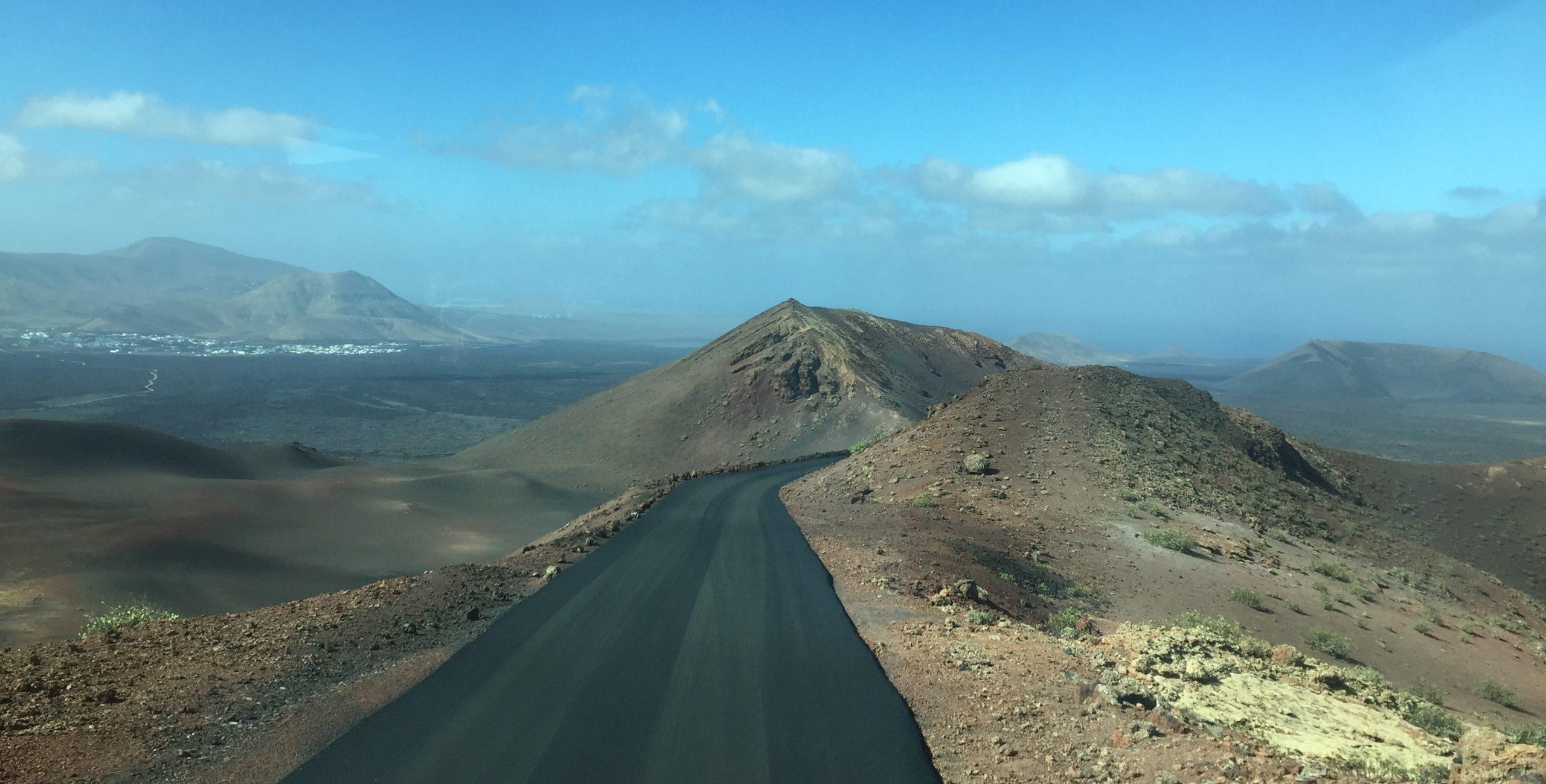 timanfaya route des volcans