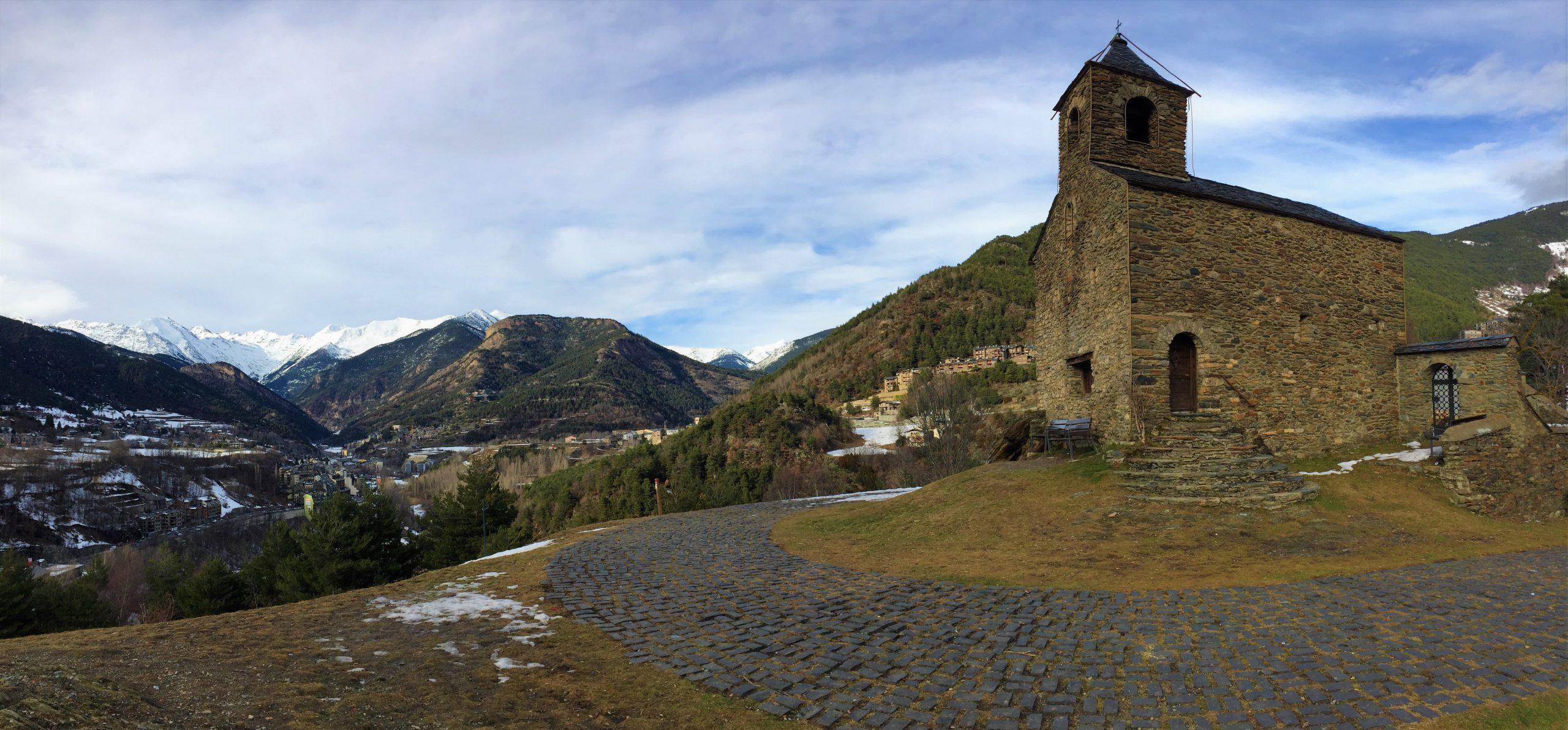 anyos et son église en andorre