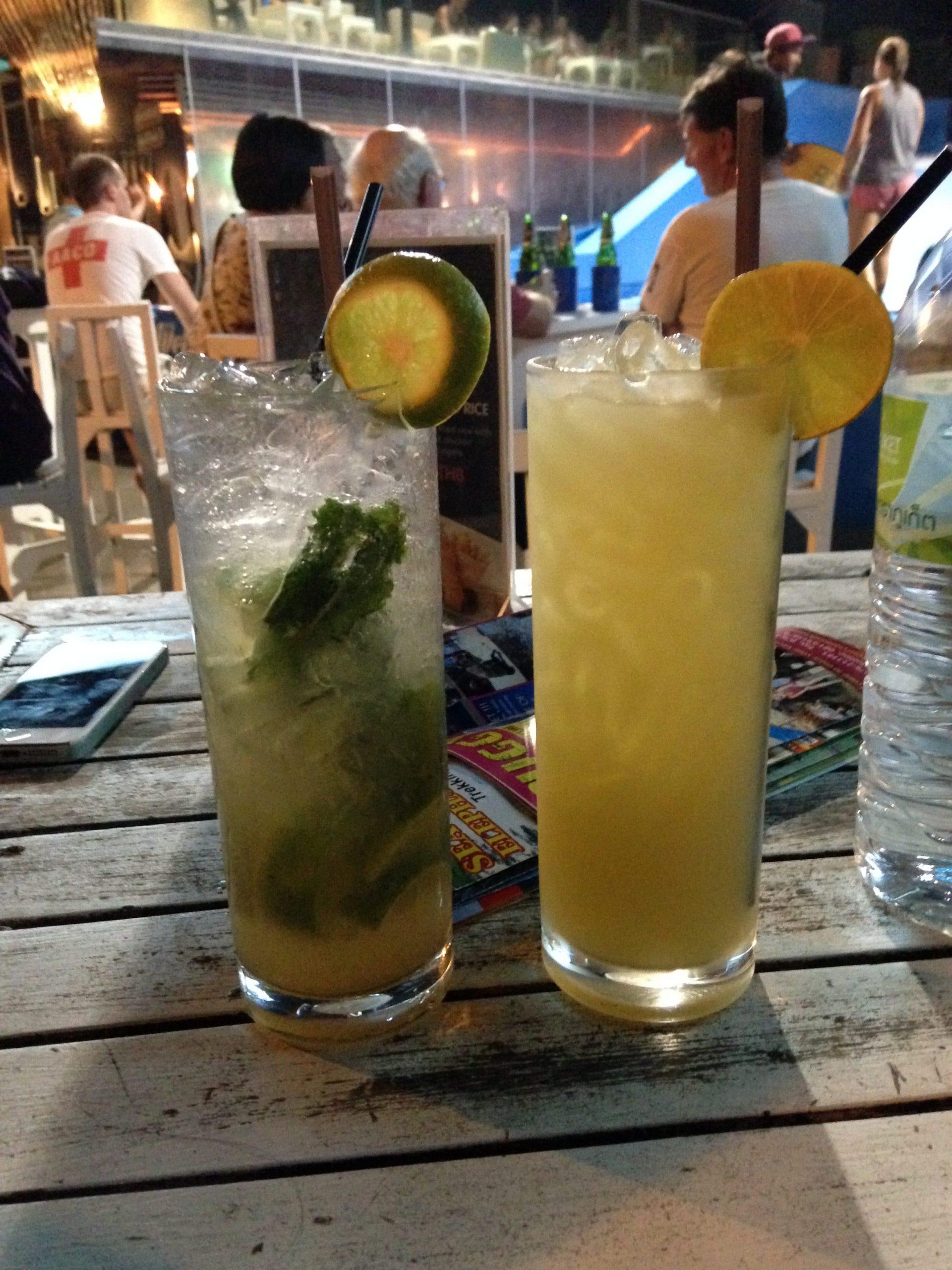cocktails thailandais