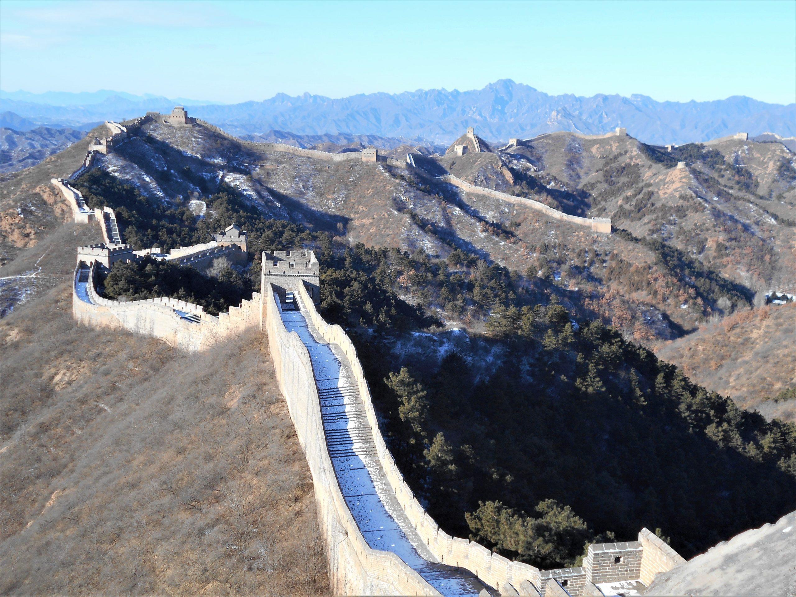 muraille de chine portion Jinshanling