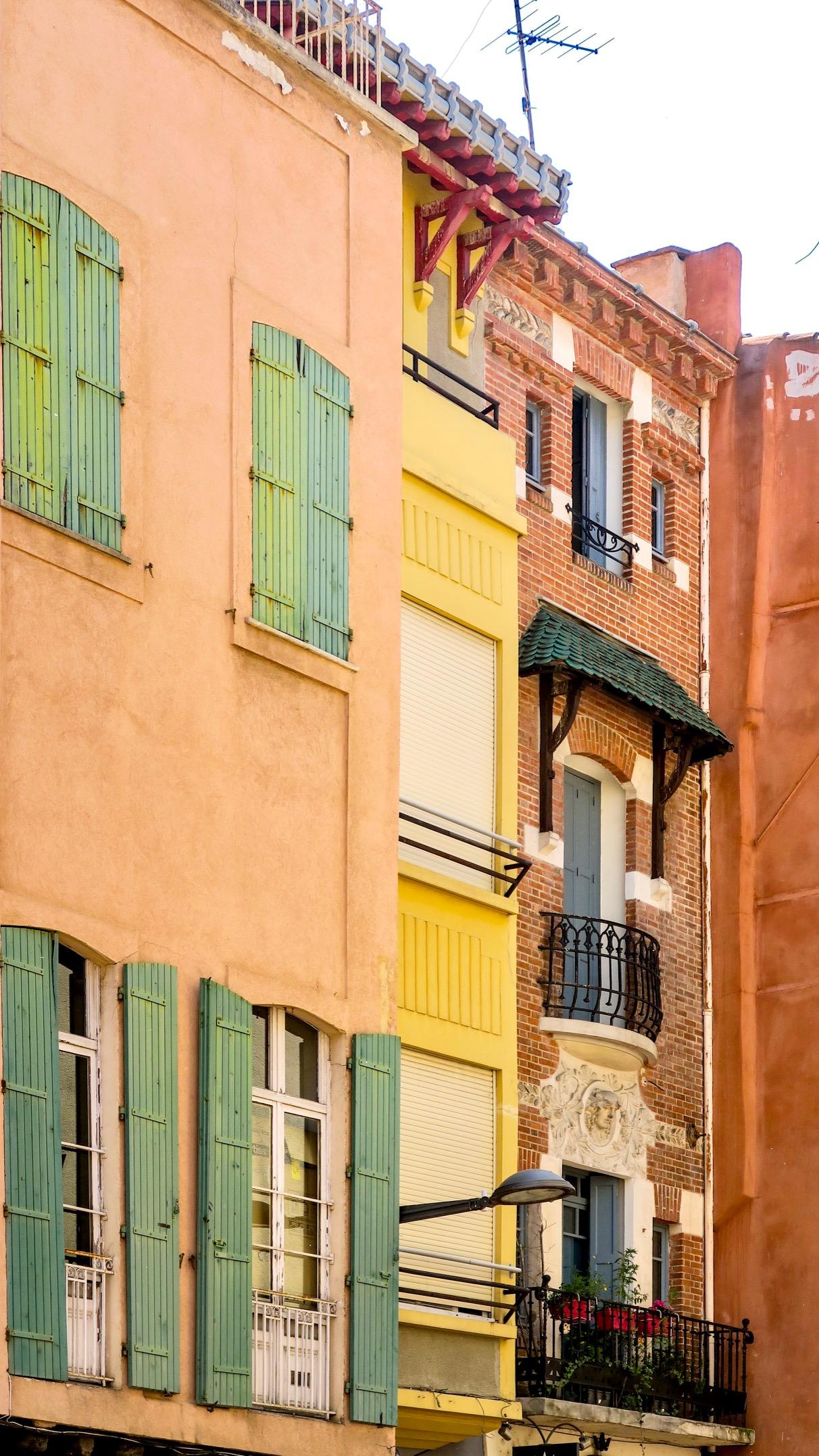 facades perpignanaises