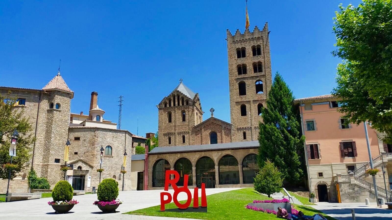 Village de Ripoll en Catalogne