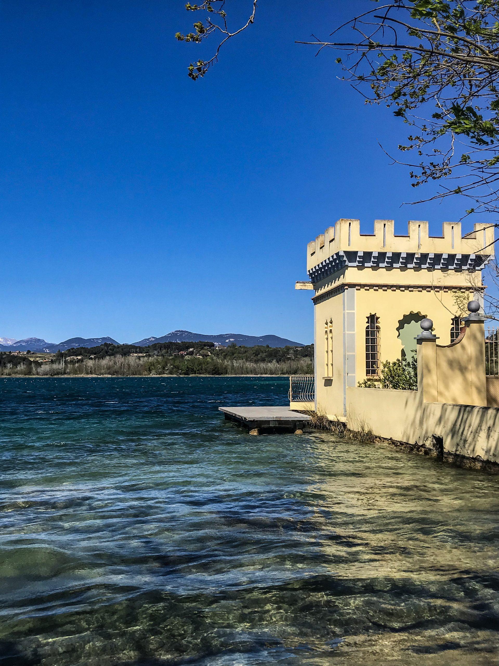 Maison de pêcheurs lac de banyoles