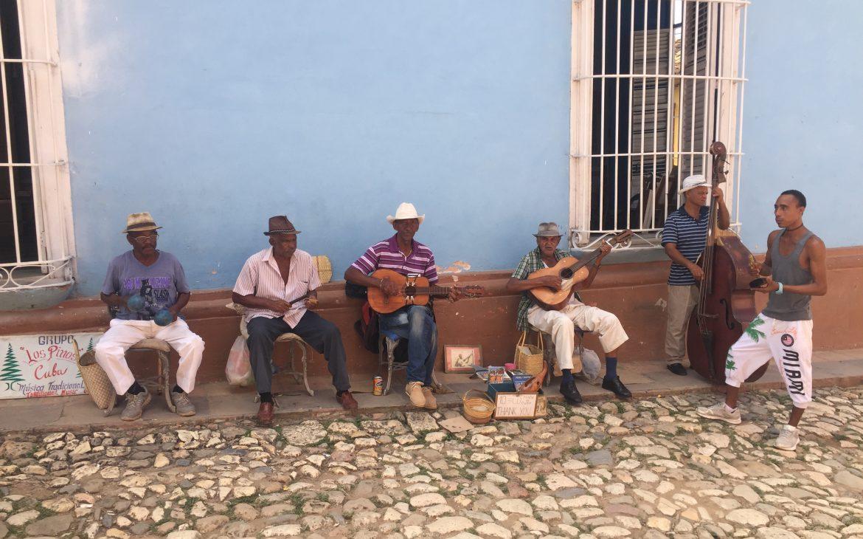 musiciens à trinidad cuba