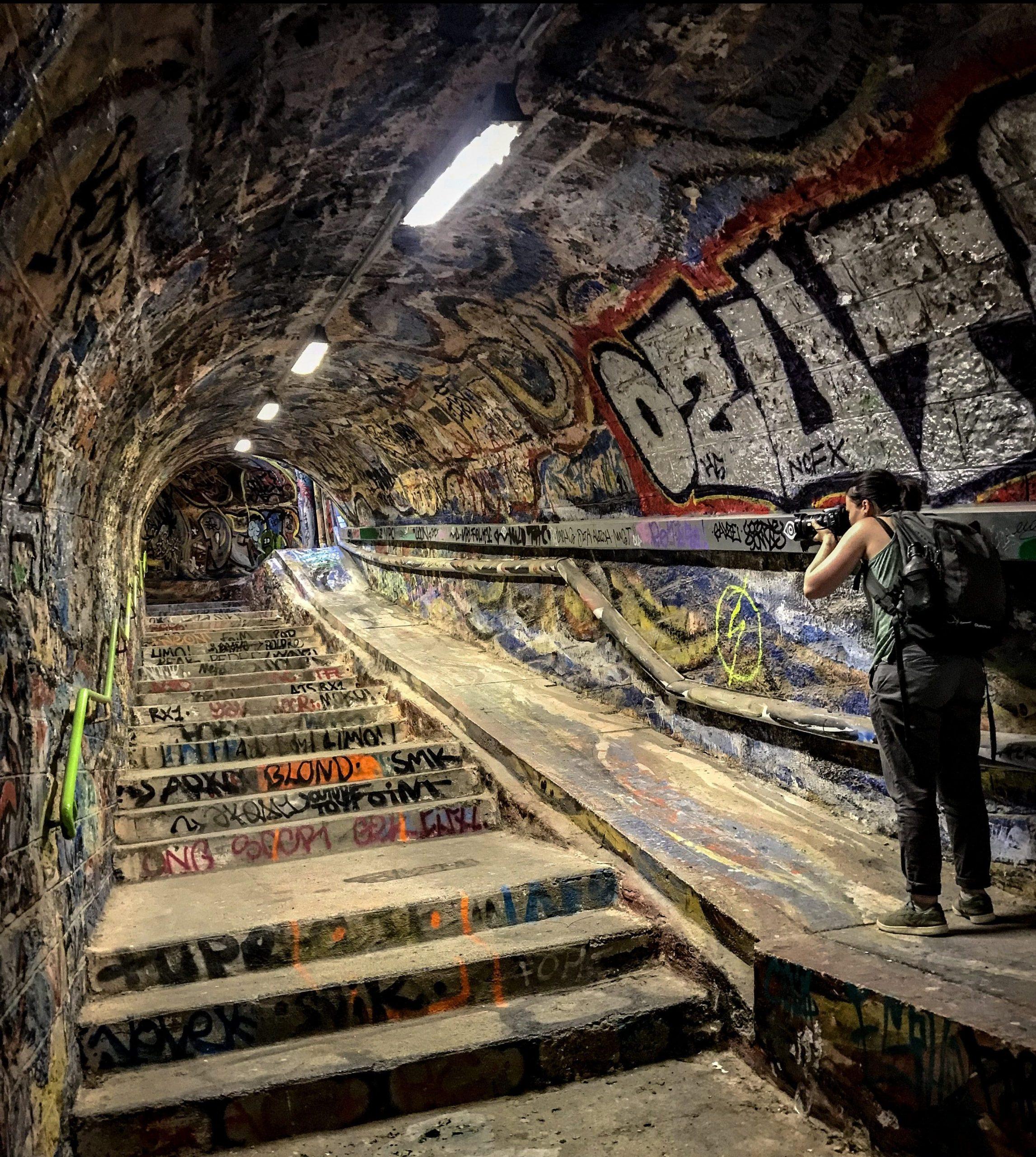 Photographie tunnel de cerbere