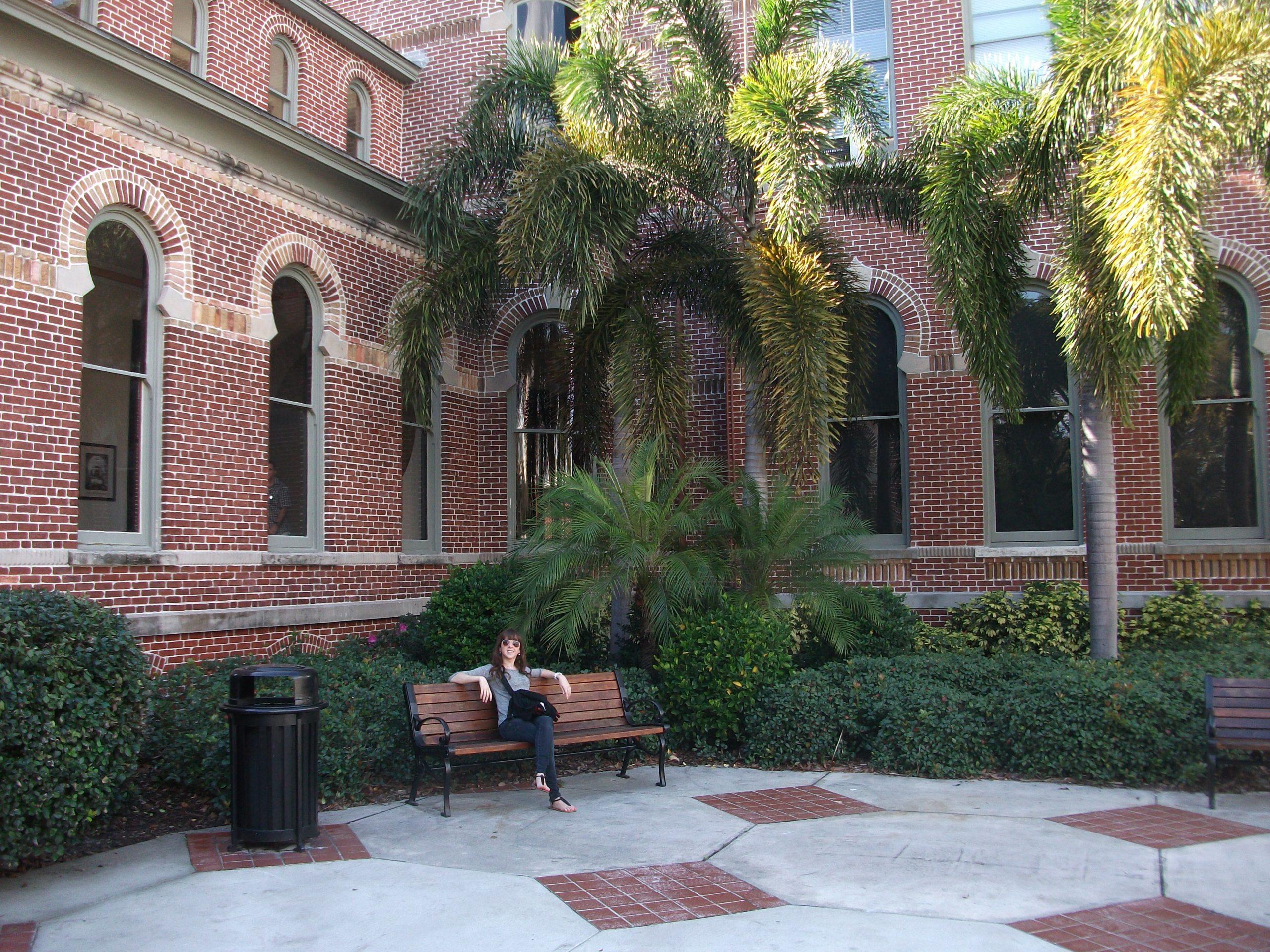 L'université de Tampa en centre-ville