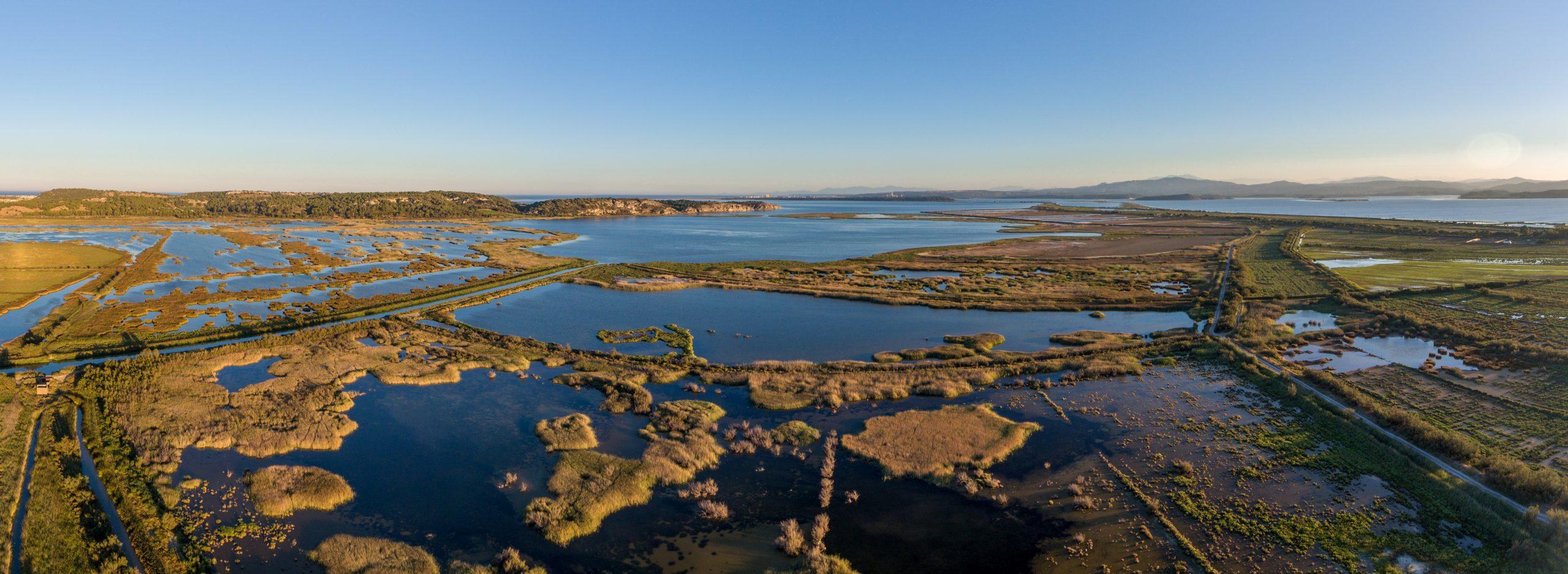 gruissan et ses étangs