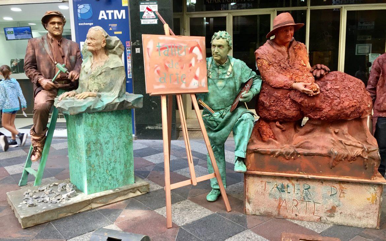artistes de rue madrid
