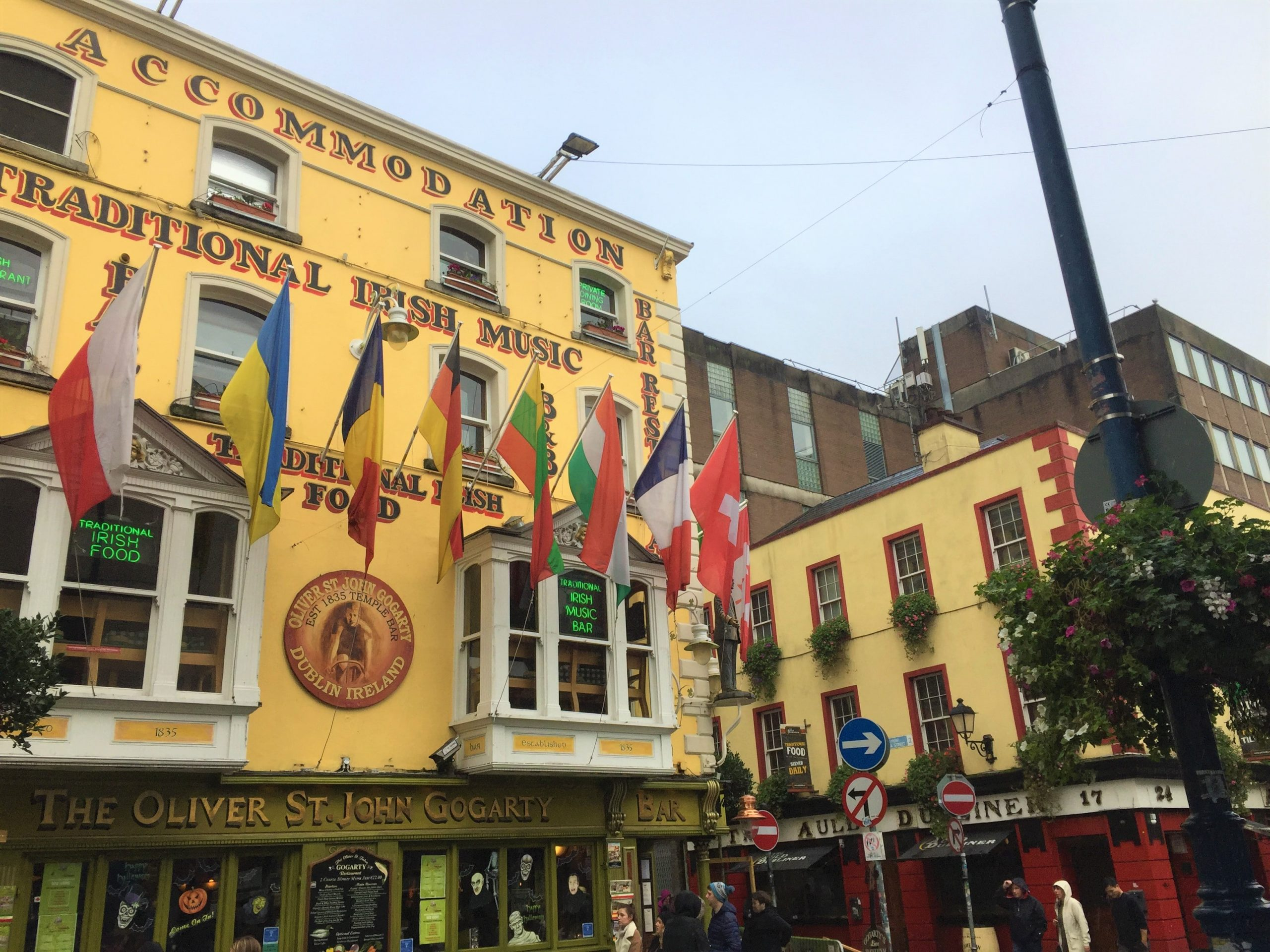 Dublin sous la pluie blog kiki mag travel