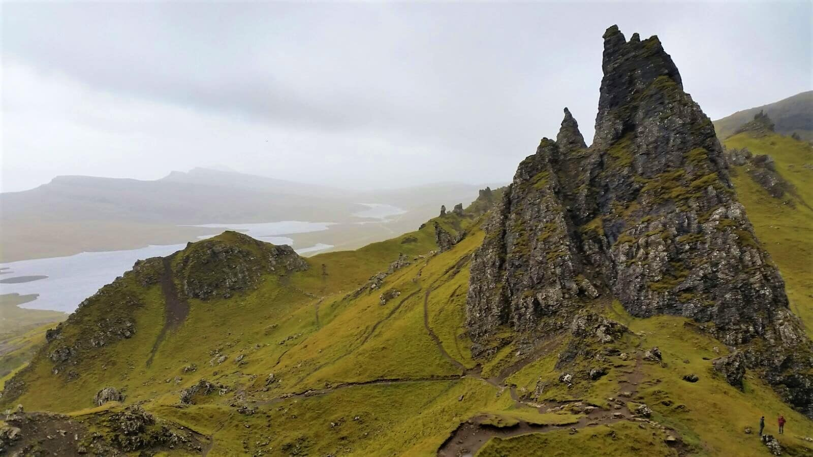 L'île de skye, Old Man of Storr