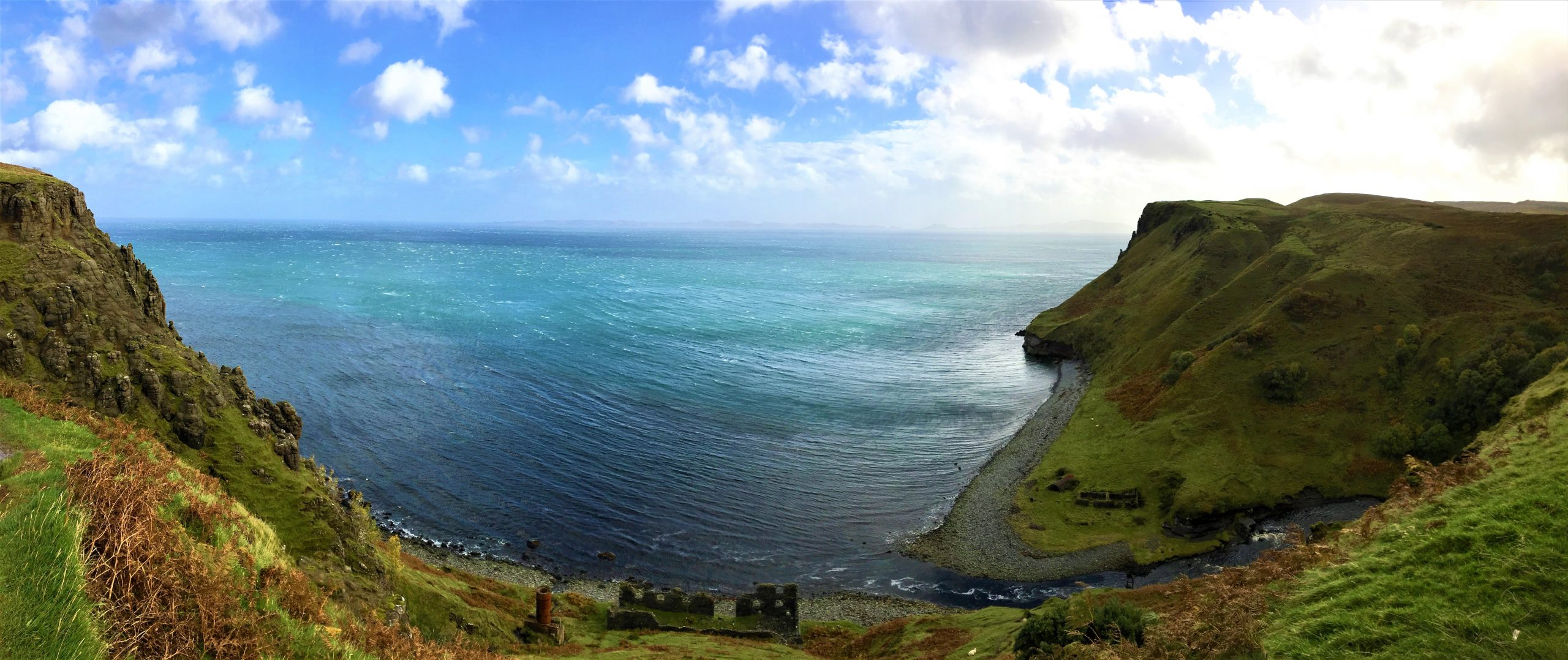 Falaises féérique sur l'Île de Skye