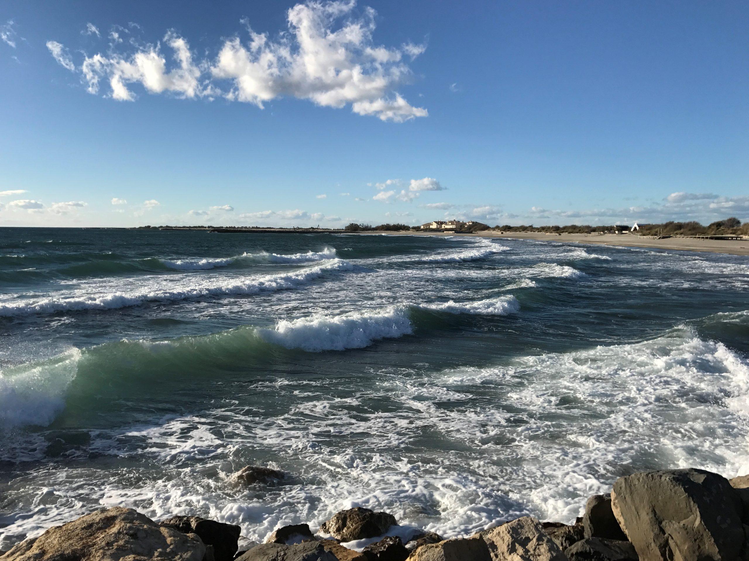 plage du crin blanc saintes maries de la mer