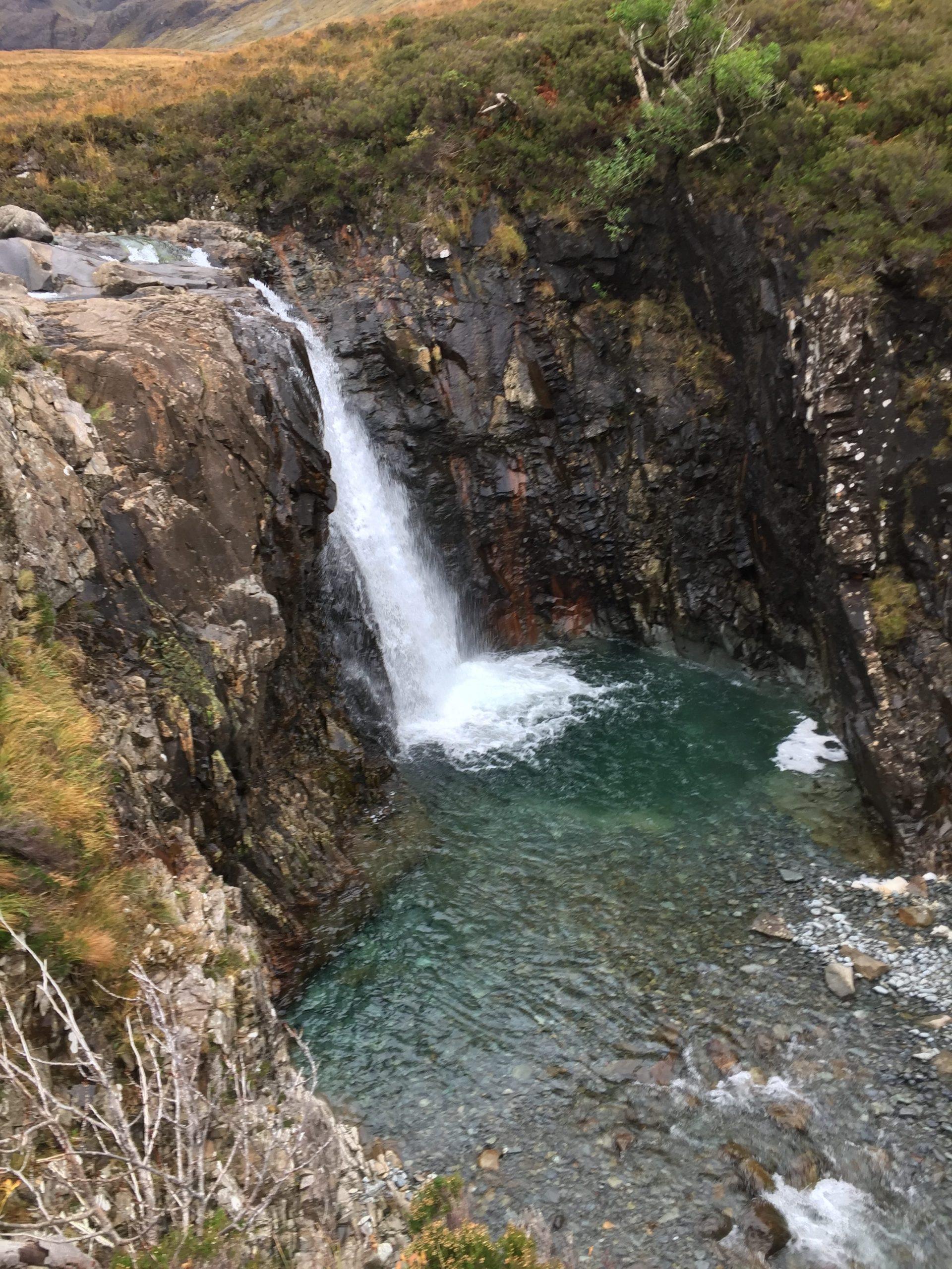 cascade fairy pools écosse