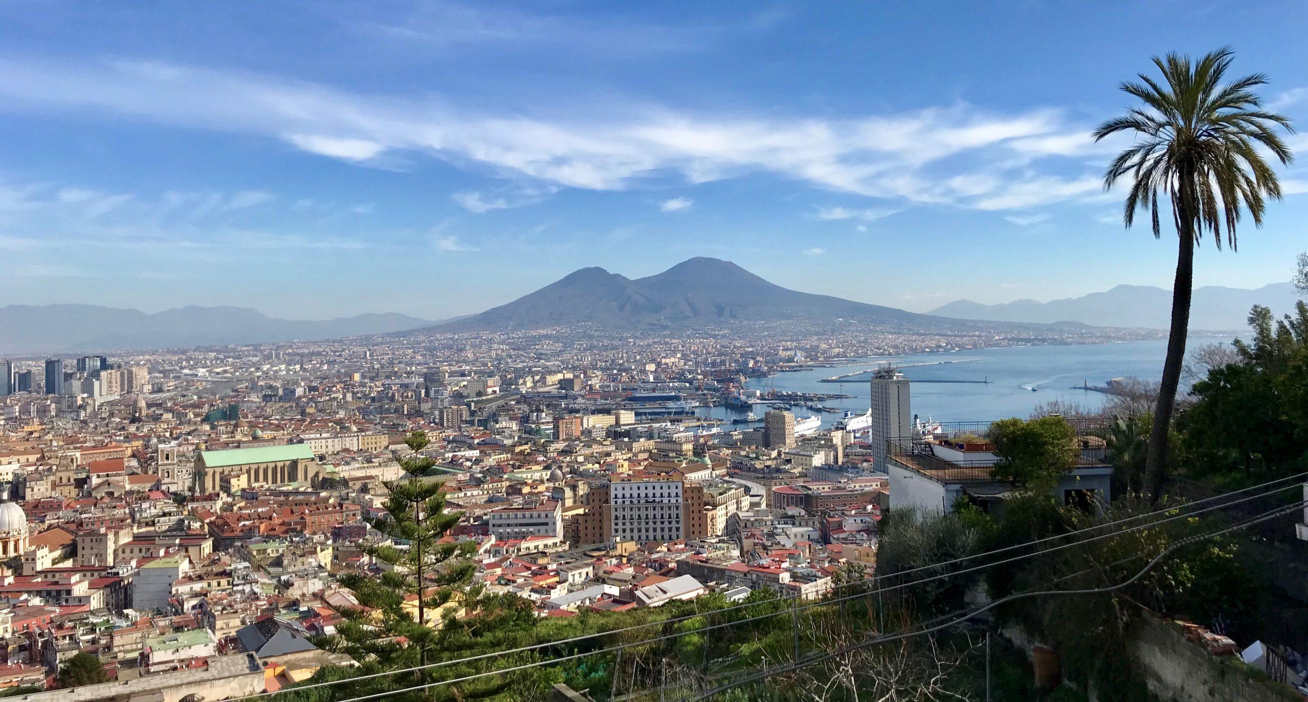 Vue sur Naples depuis le Castel sant elmo