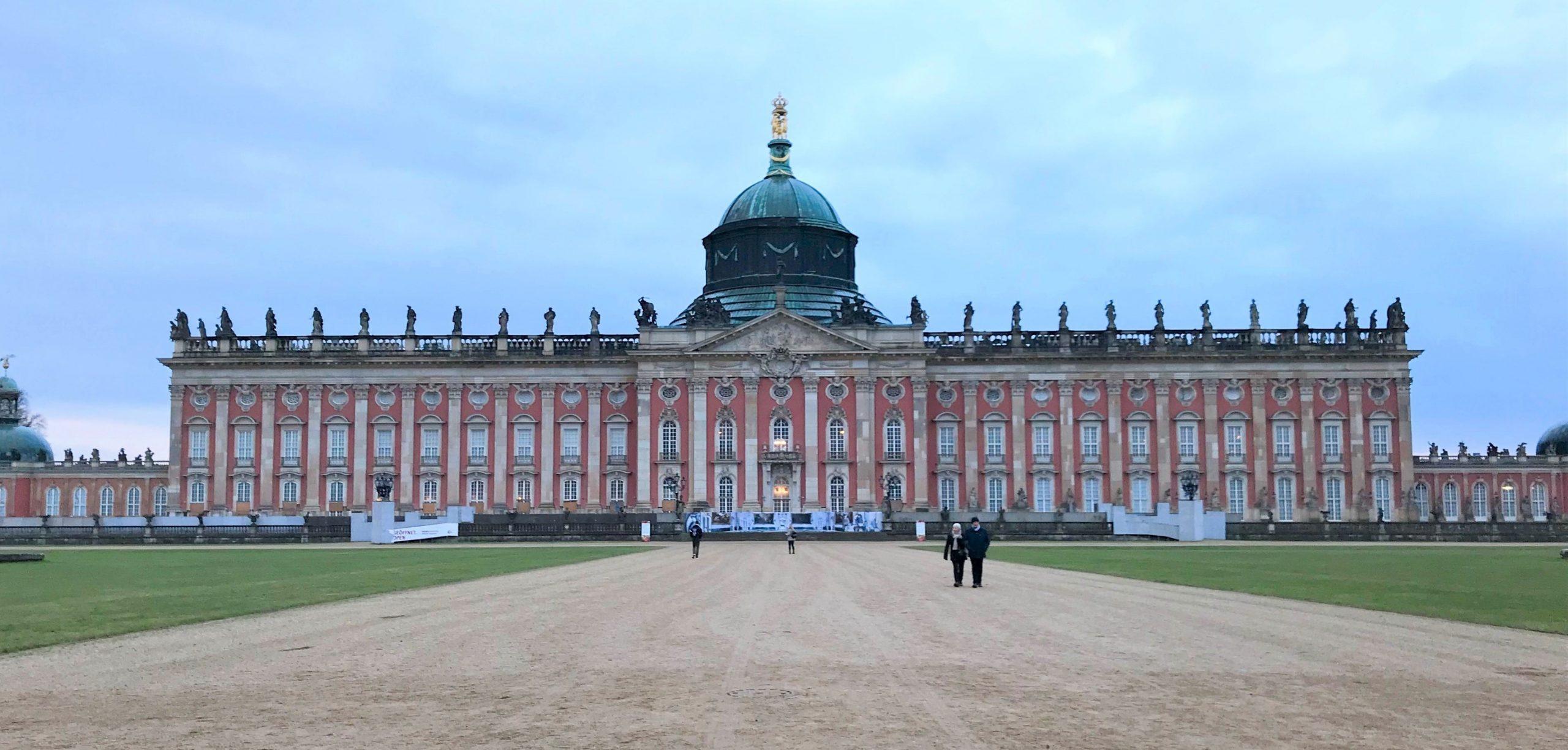 visiter potsdam le palais sans souci