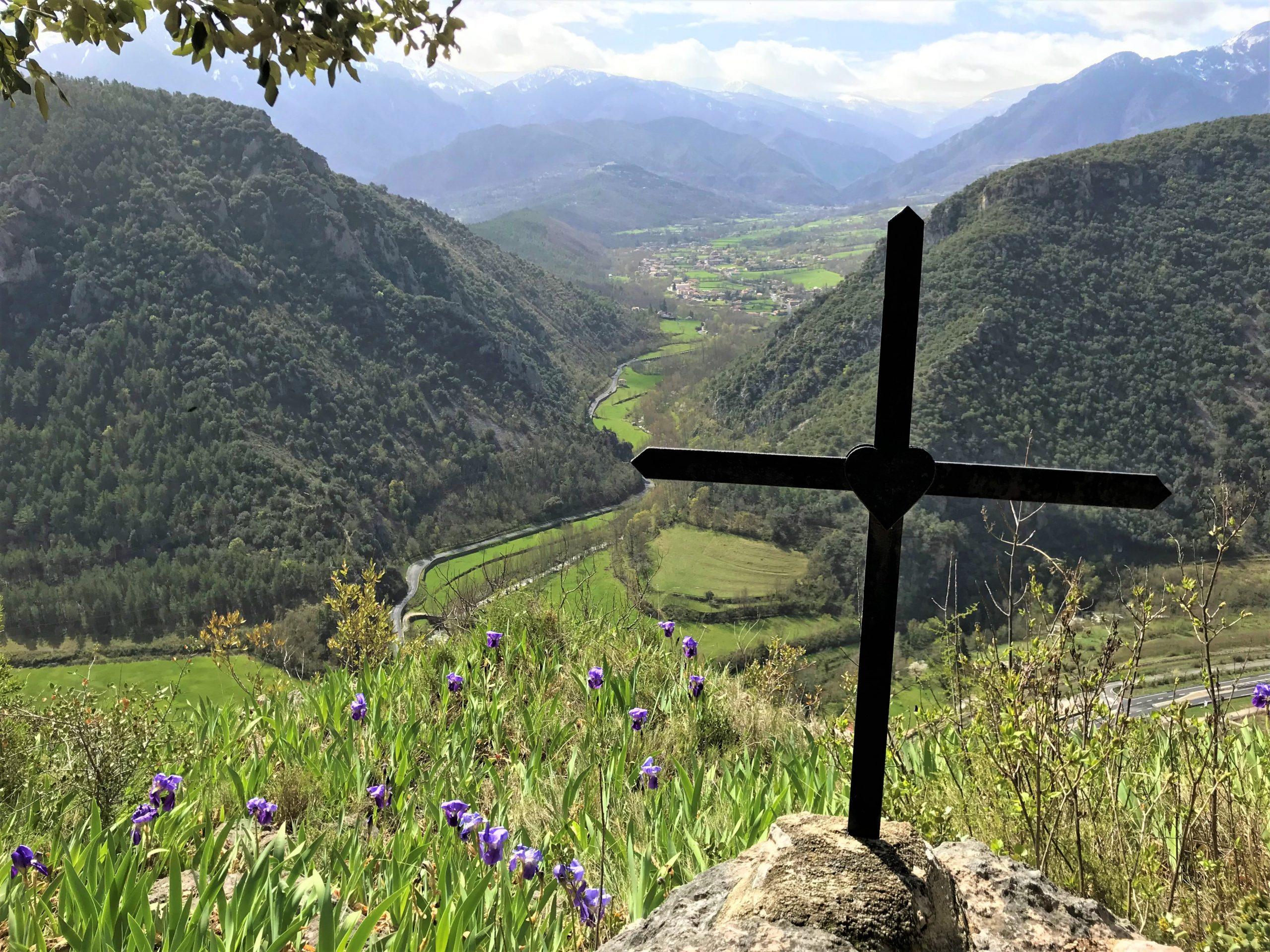sentier de croix