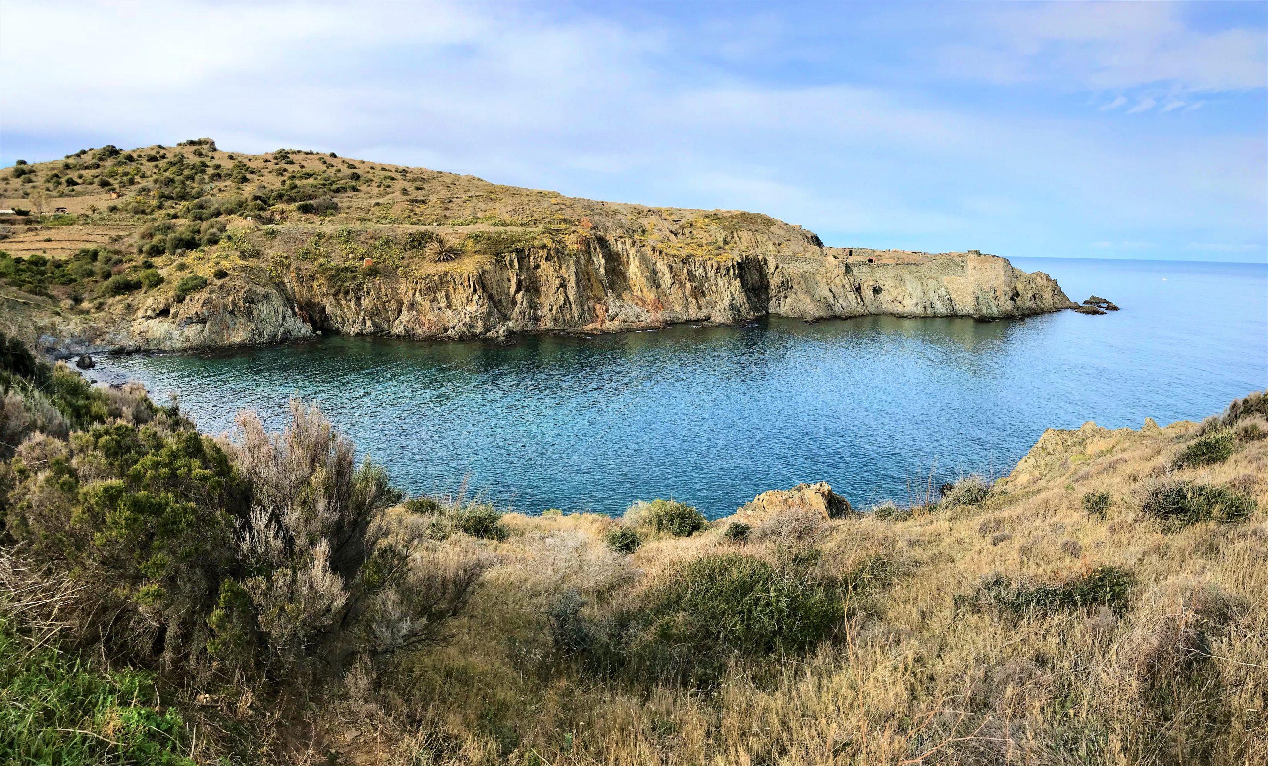 Sentier du littoral de Collioure à Port vendres