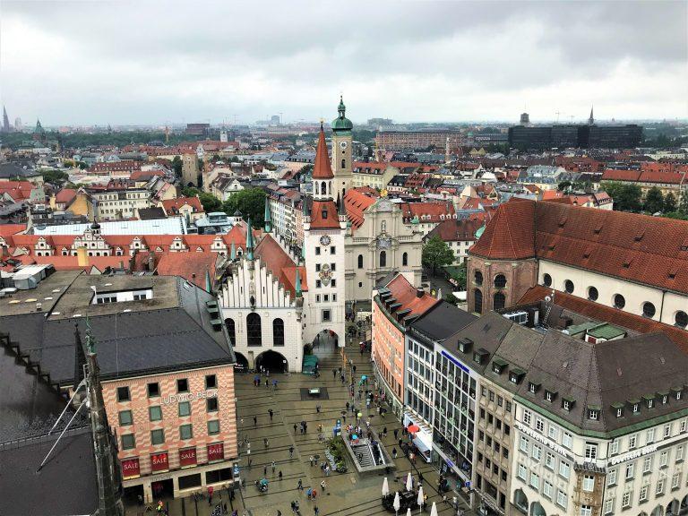 Munich capitale de la baviere