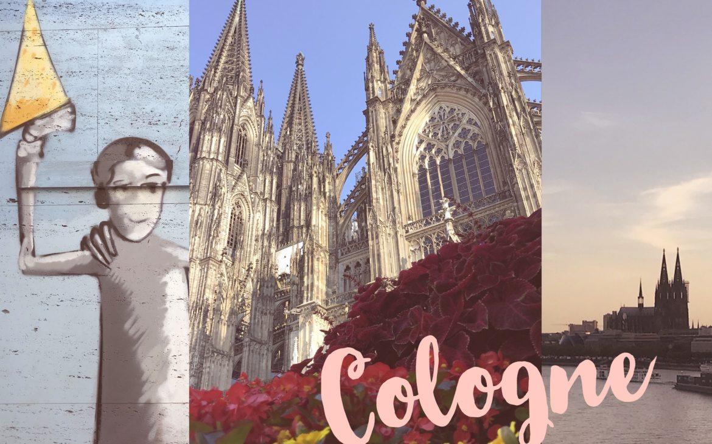 Un doux week-end à Cologne