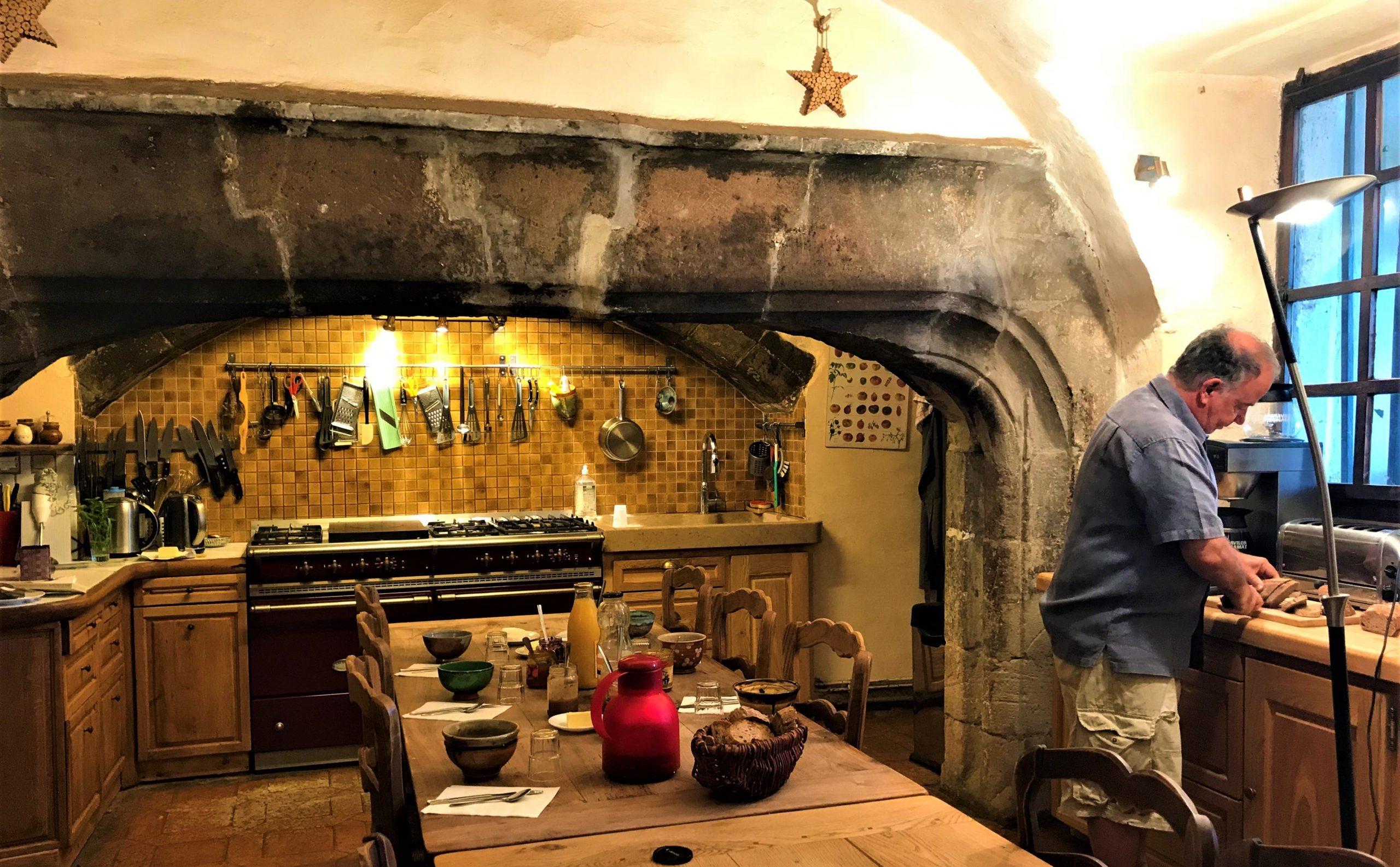 cuisine insolite chateau de liviers ardeche
