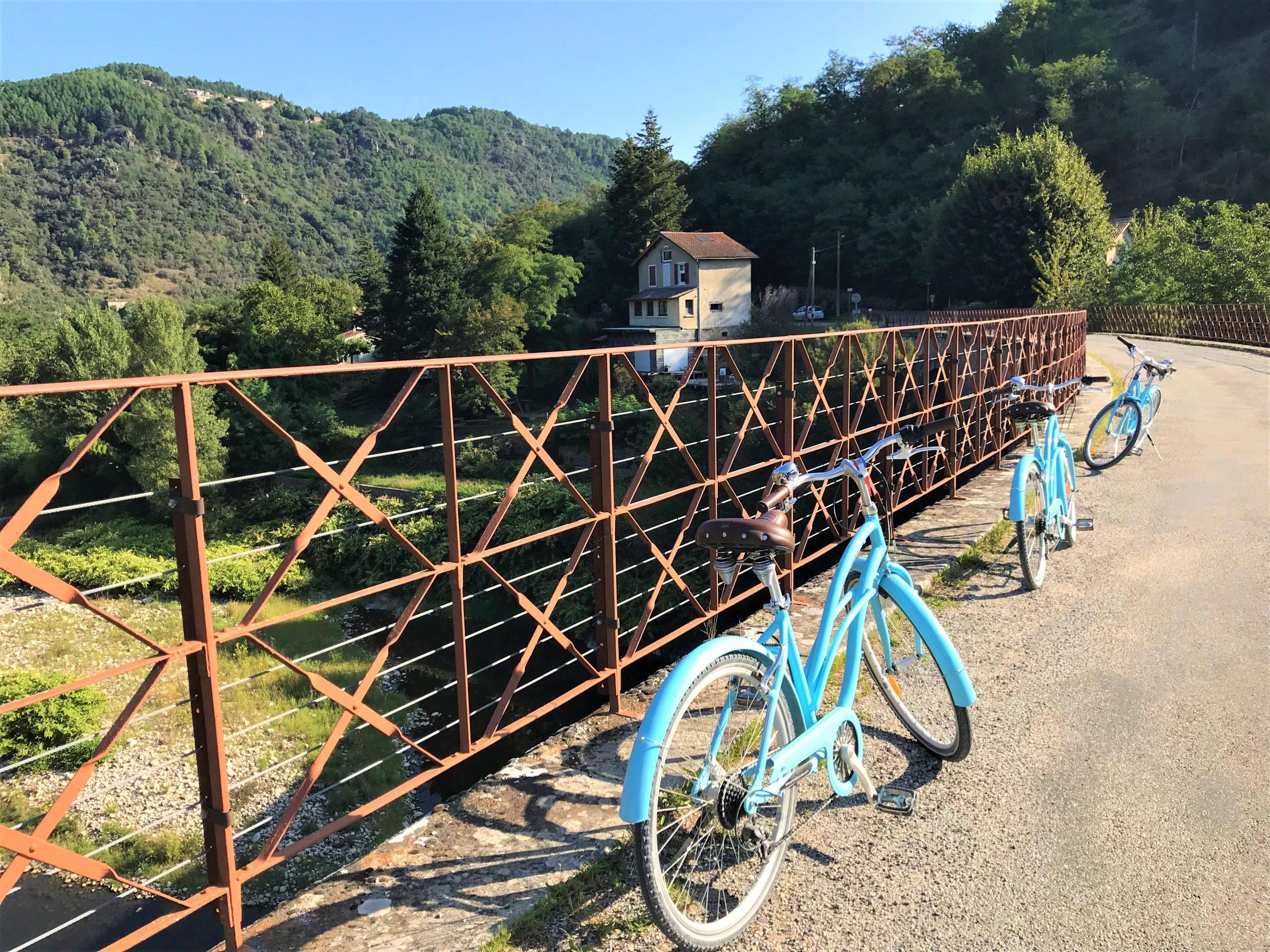 faire du vélo sur la Dolce via