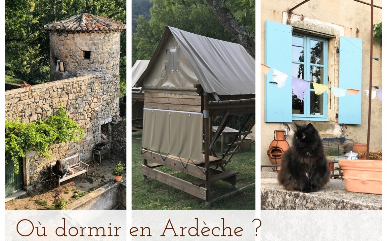 Hébergements insolites & nature en Ardèche