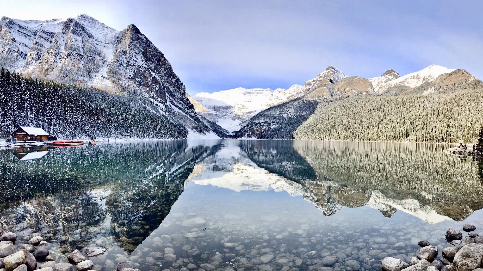 le lake louise canada