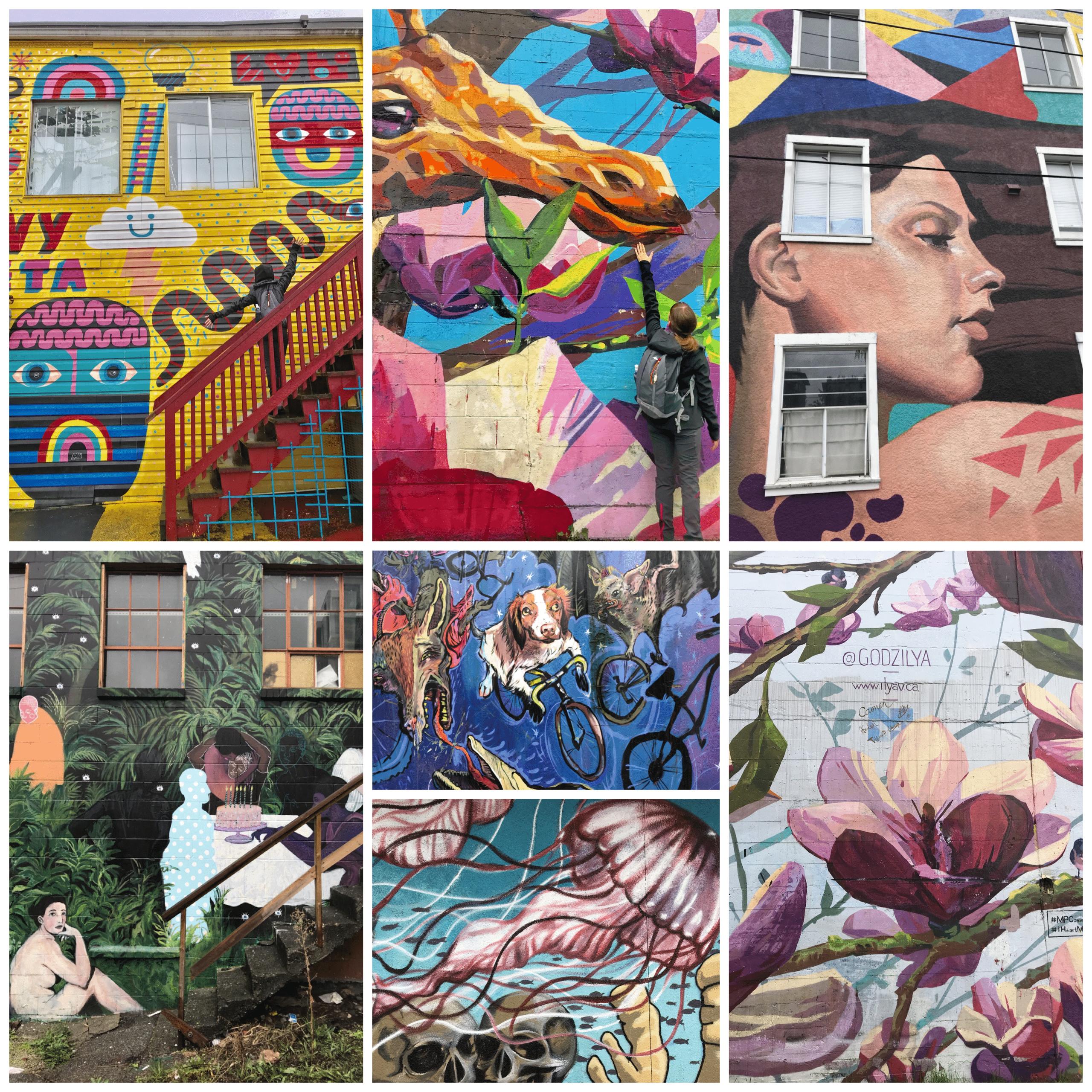 street art à vancouver