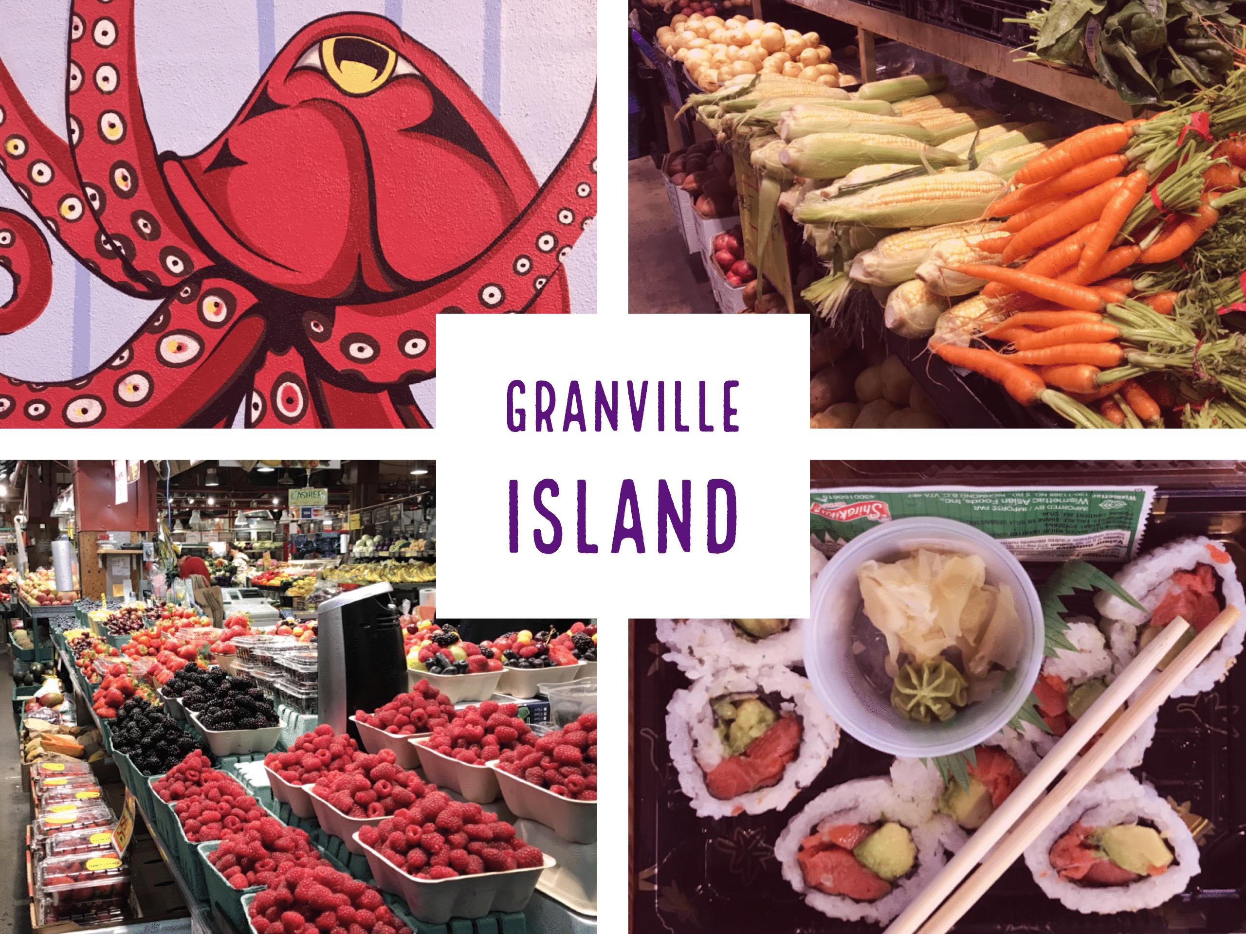 granville island visiter vancouver