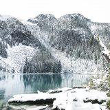 Joffre Lakes sous la neige