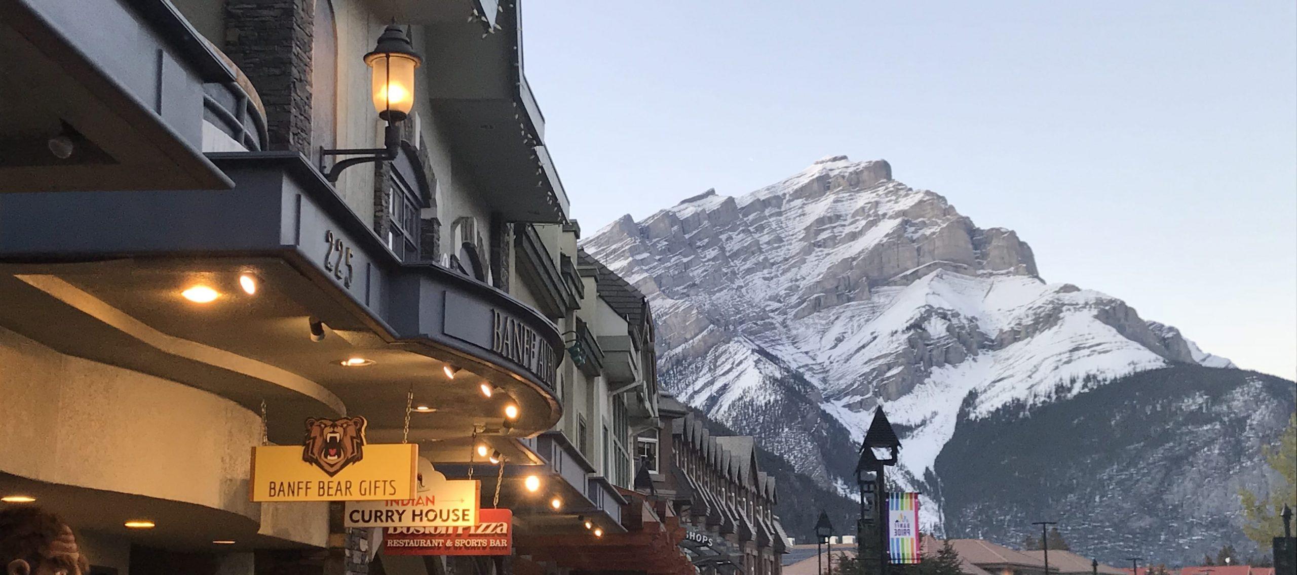 Banff et ses reliefs