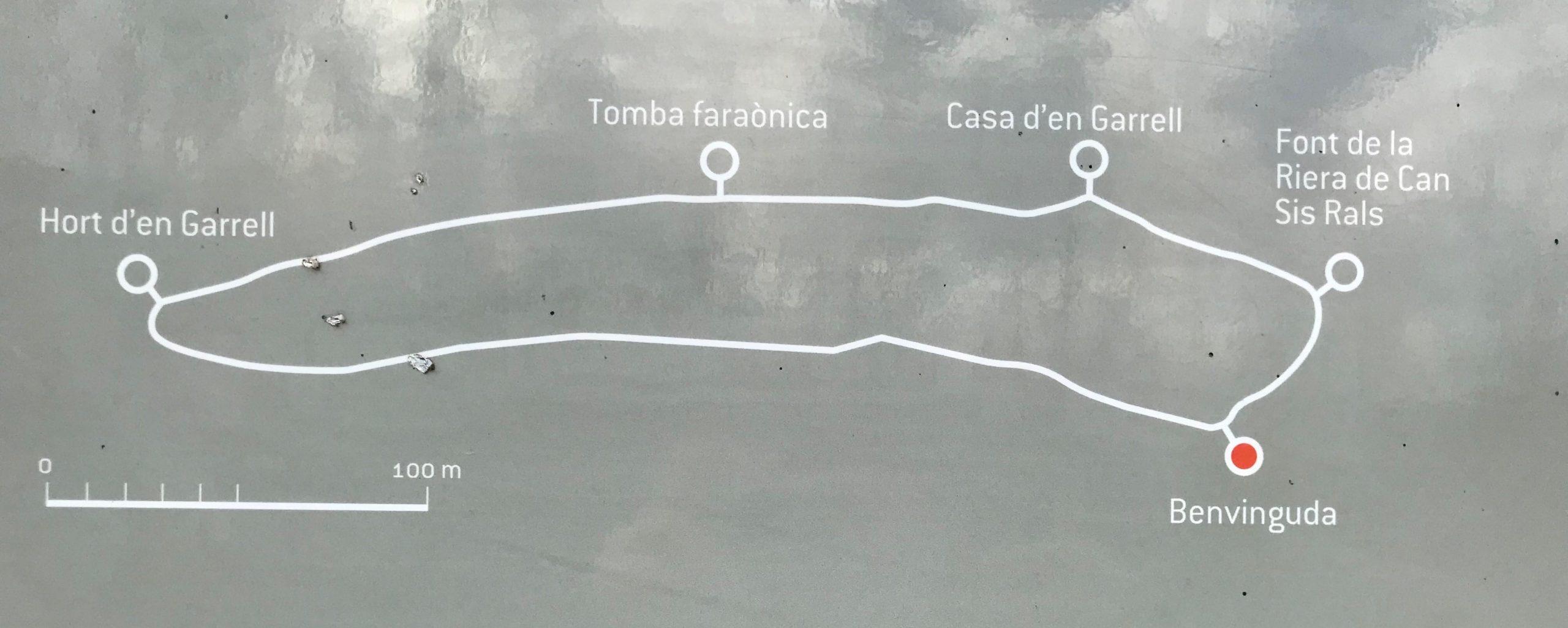 itinéraire des cabanes d'argelaguer