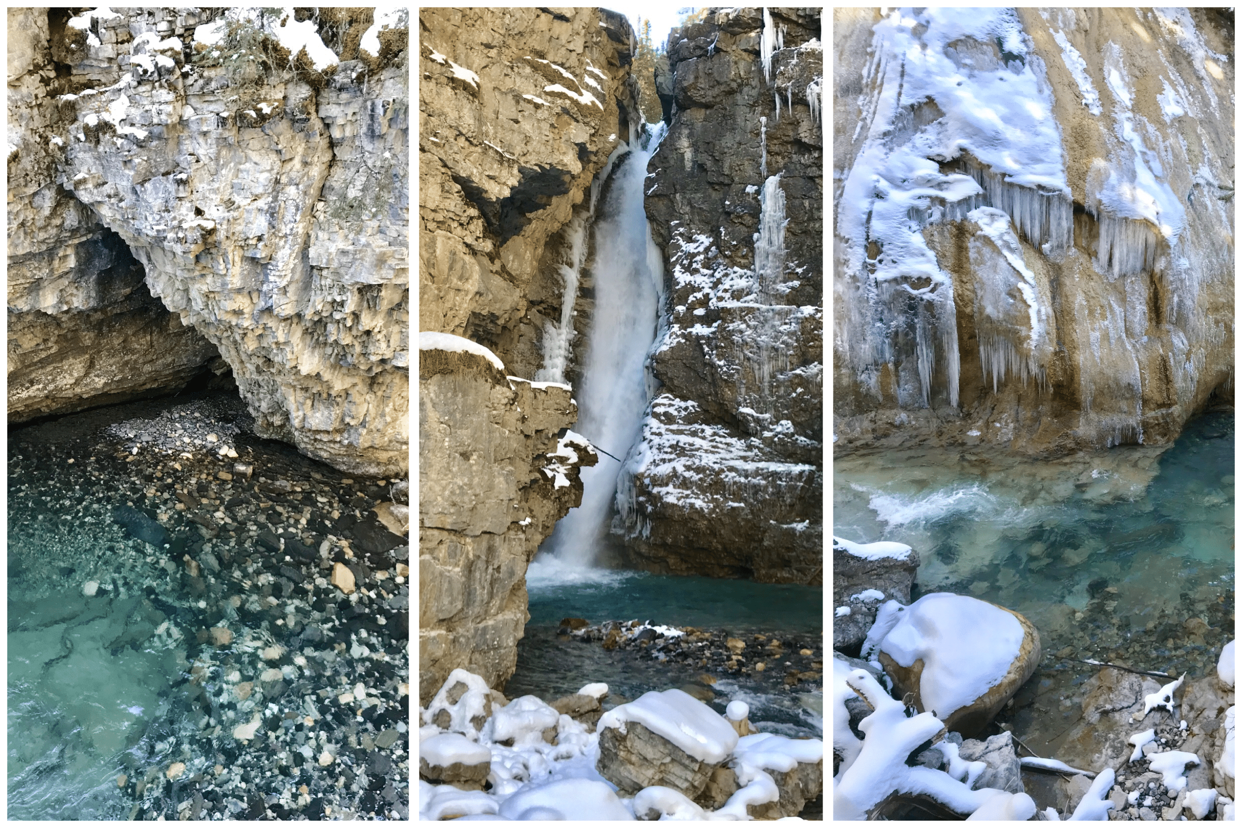 le johnston canyon