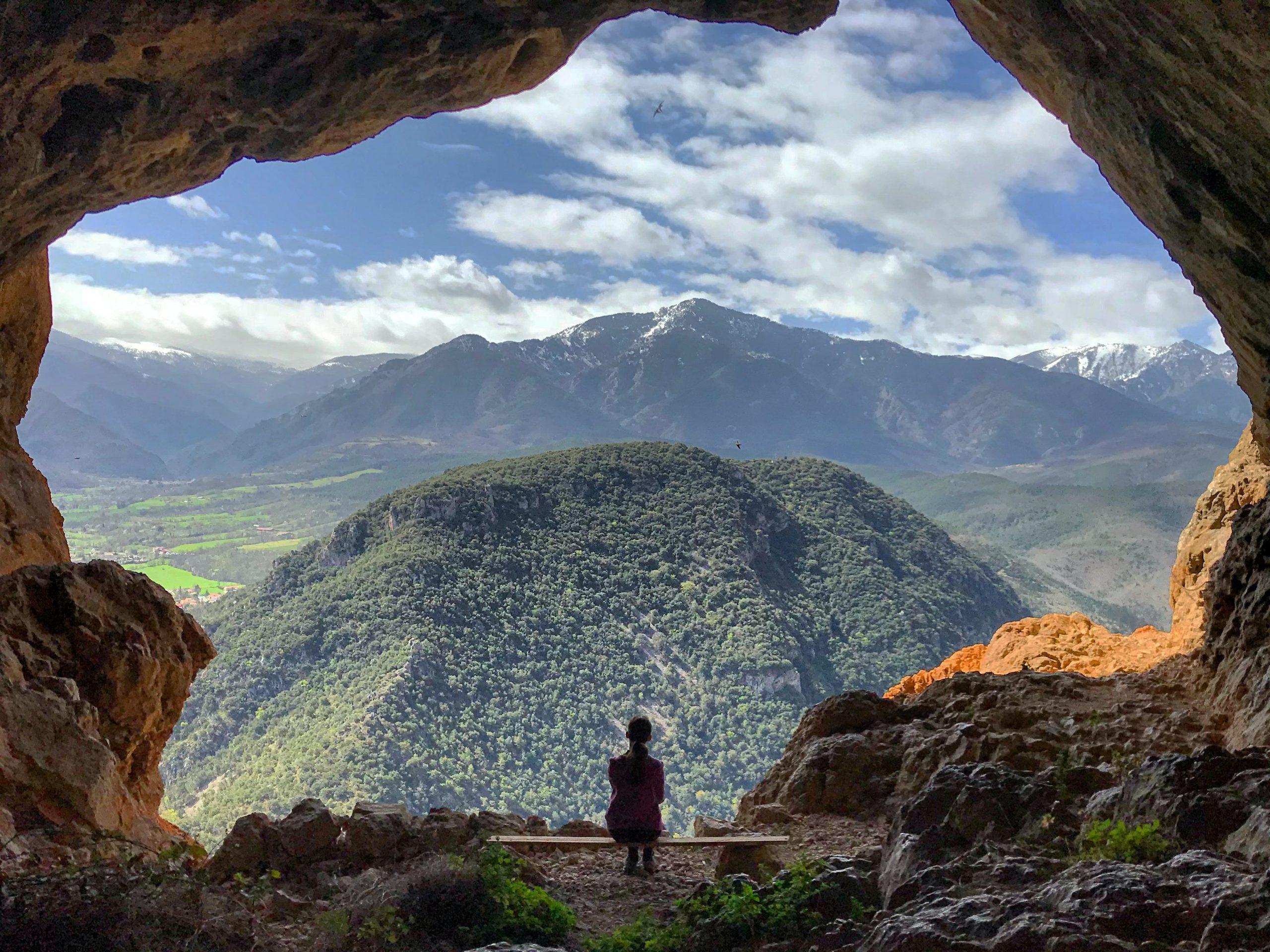 la grotte notre dame de vie à villefranche-de-conflent