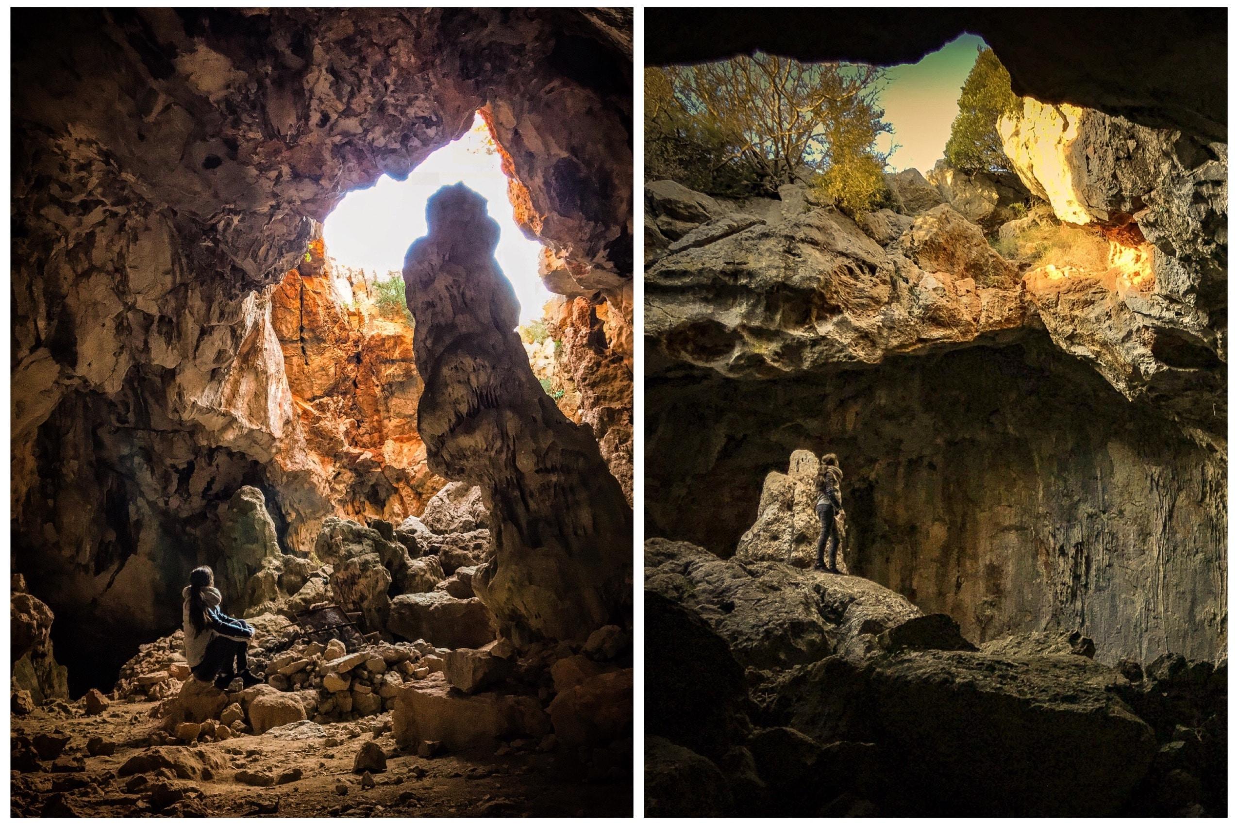 la grotte d'Opoul en Pyrénées-Orientales