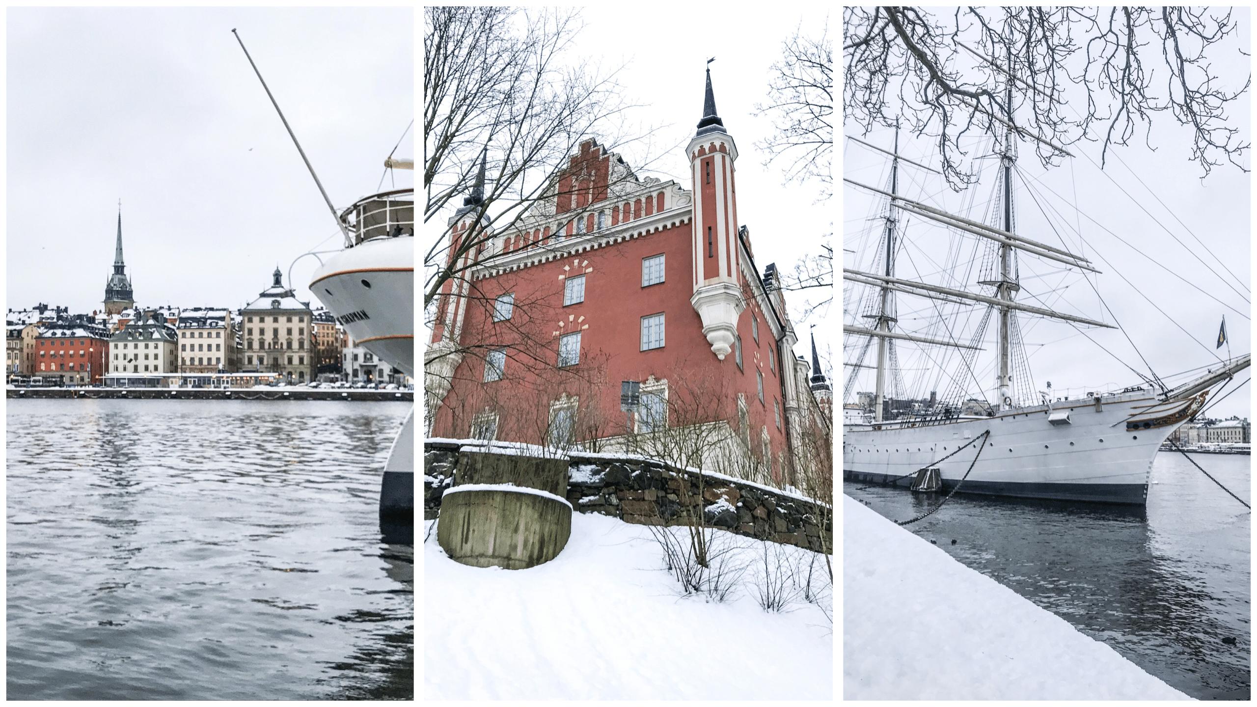 Skeppsholmen & Kastellholmen