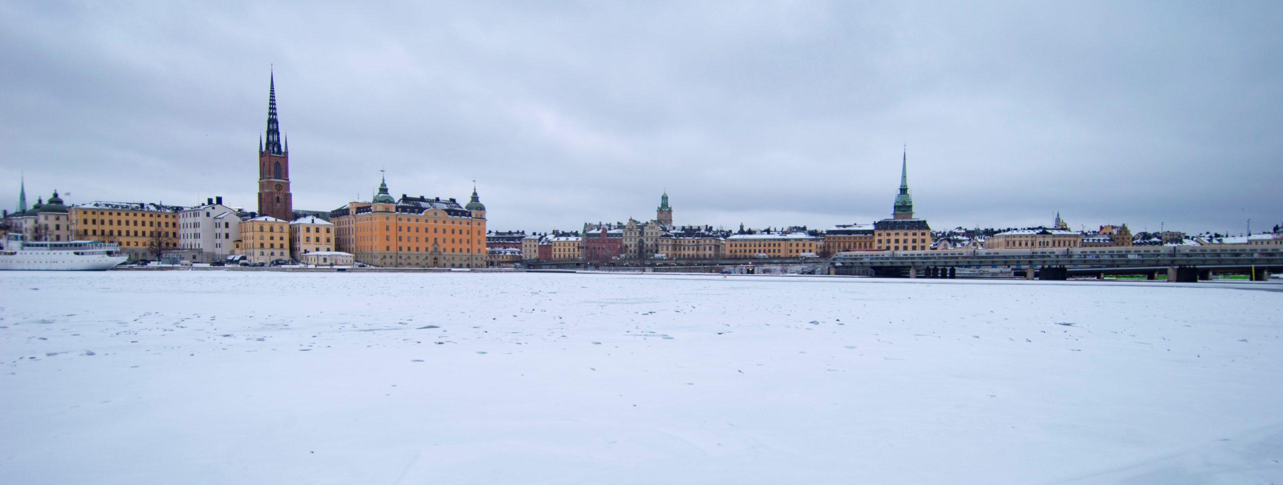 carte postale stockholm