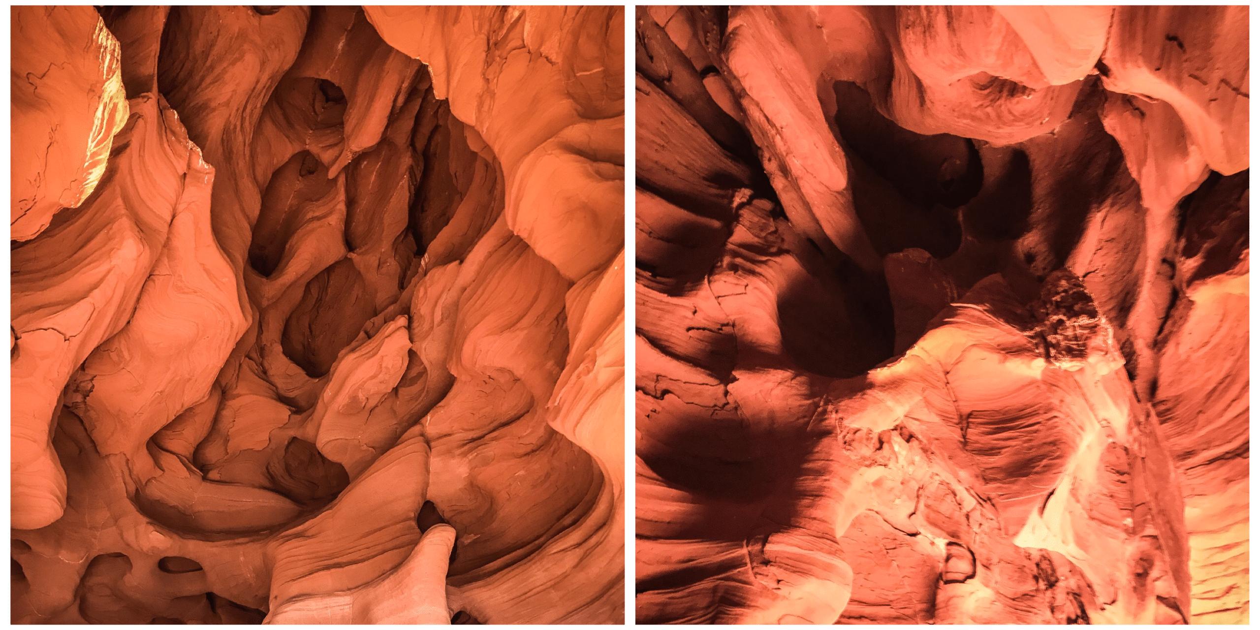 courbes naturelles des grottes de can riera