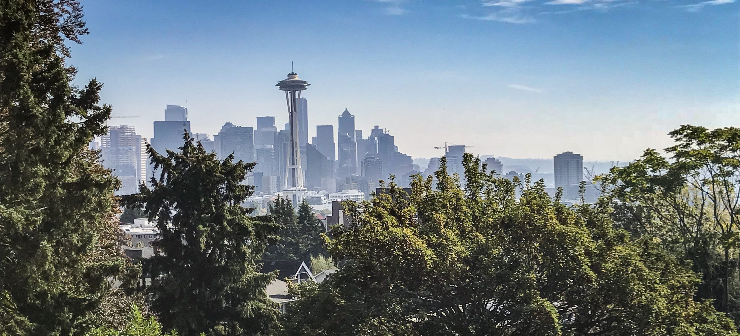 Seattle depuis le Kerry park